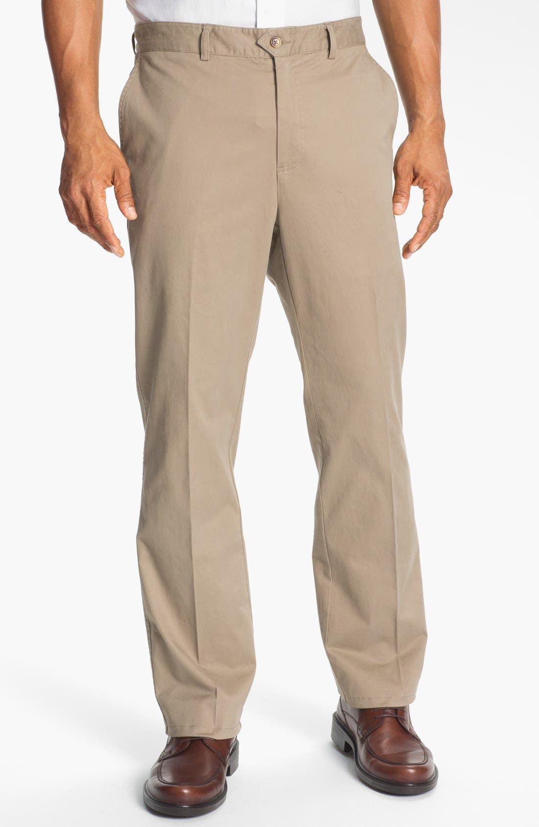 Alternate Image 1 Selected - Cutter & Buck 'Harbor' Flat Front Pants