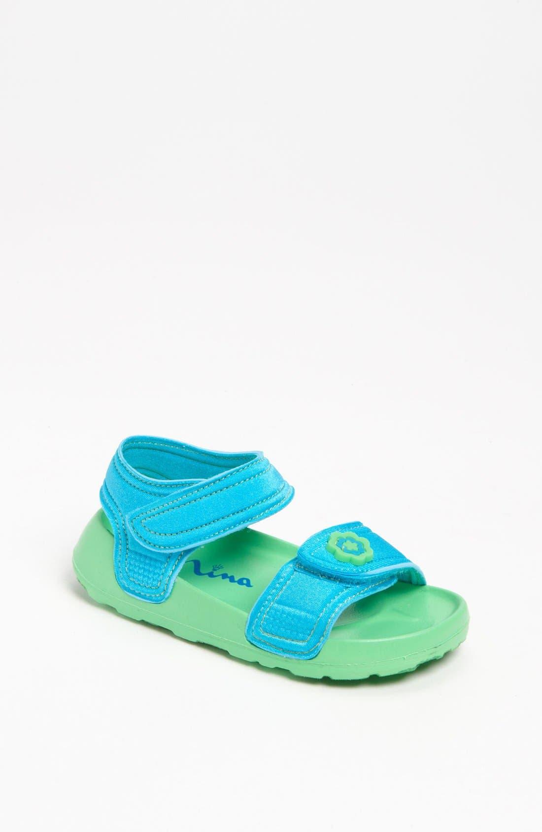 Alternate Image 1 Selected - Nina 'Delite2' Neoprene Sandal (Walker & Toddler)