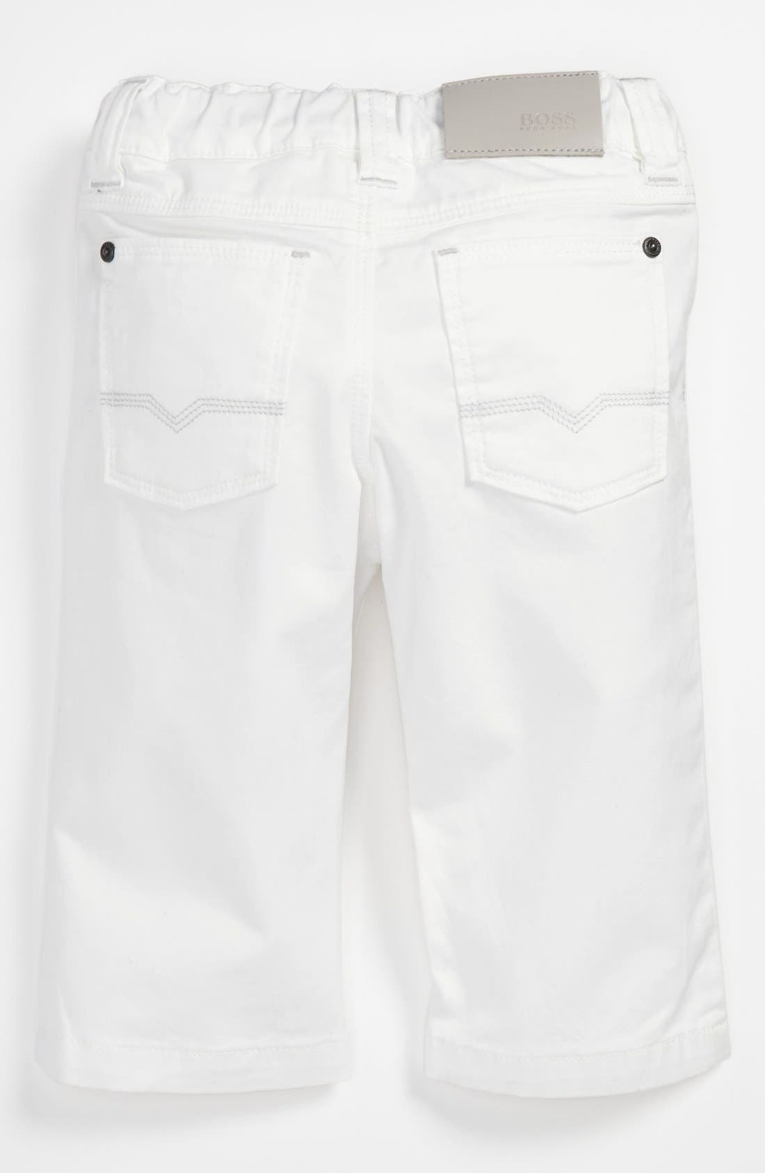 Alternate Image 2  - BOSS Kidswear Twill Pants (Toddler)