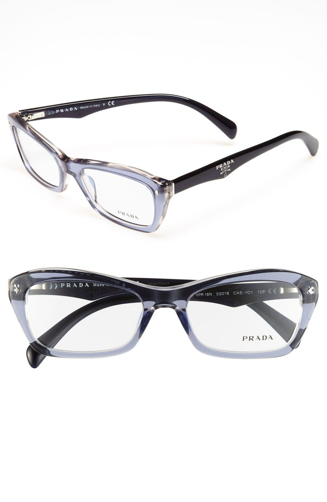 Alternate Image 1 Selected - Prada 53mm Optical Glasses (Online Only)