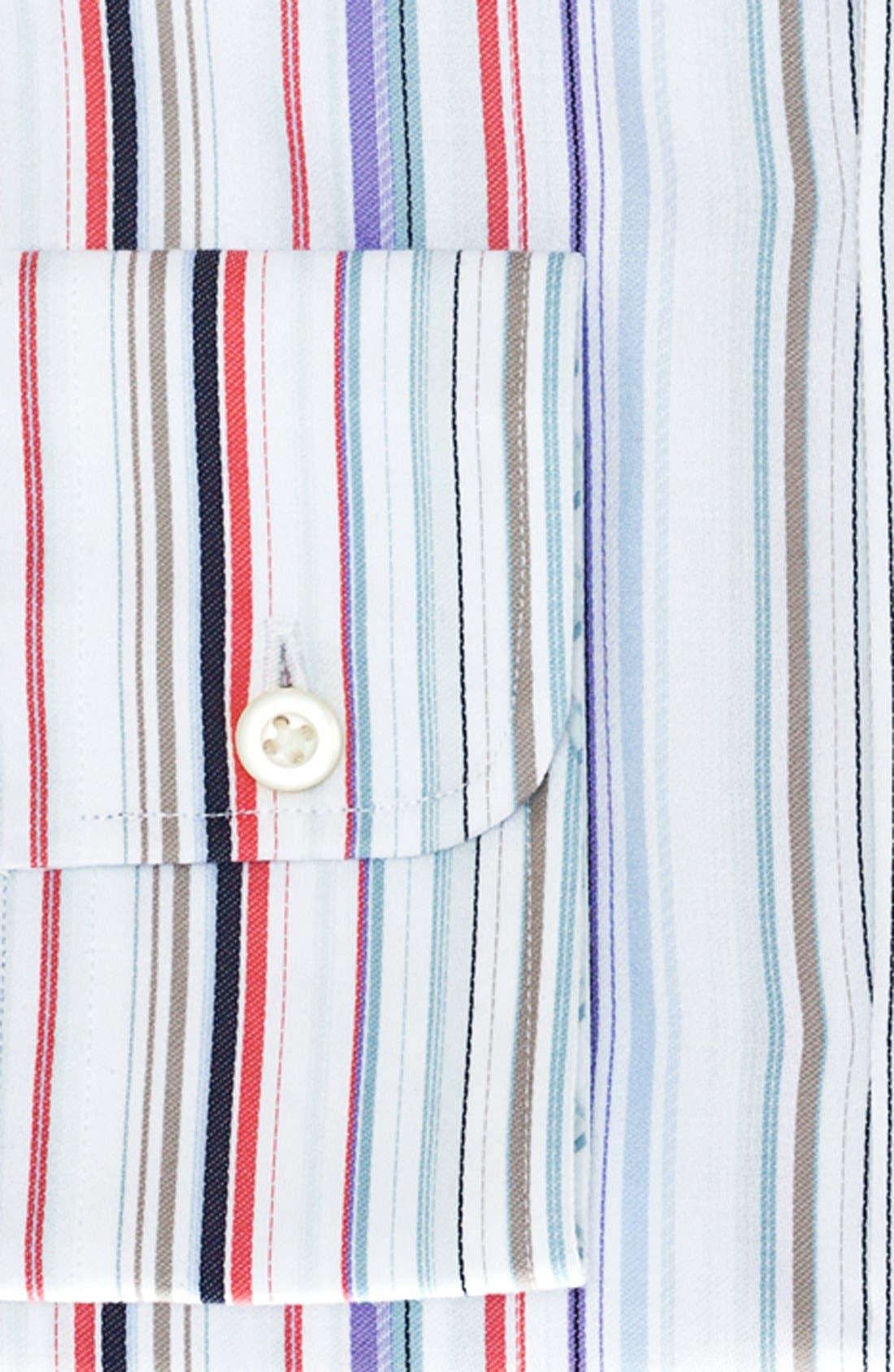 Alternate Image 2  - Thomas Dean Stripe Dress Shirt (Big Boys)