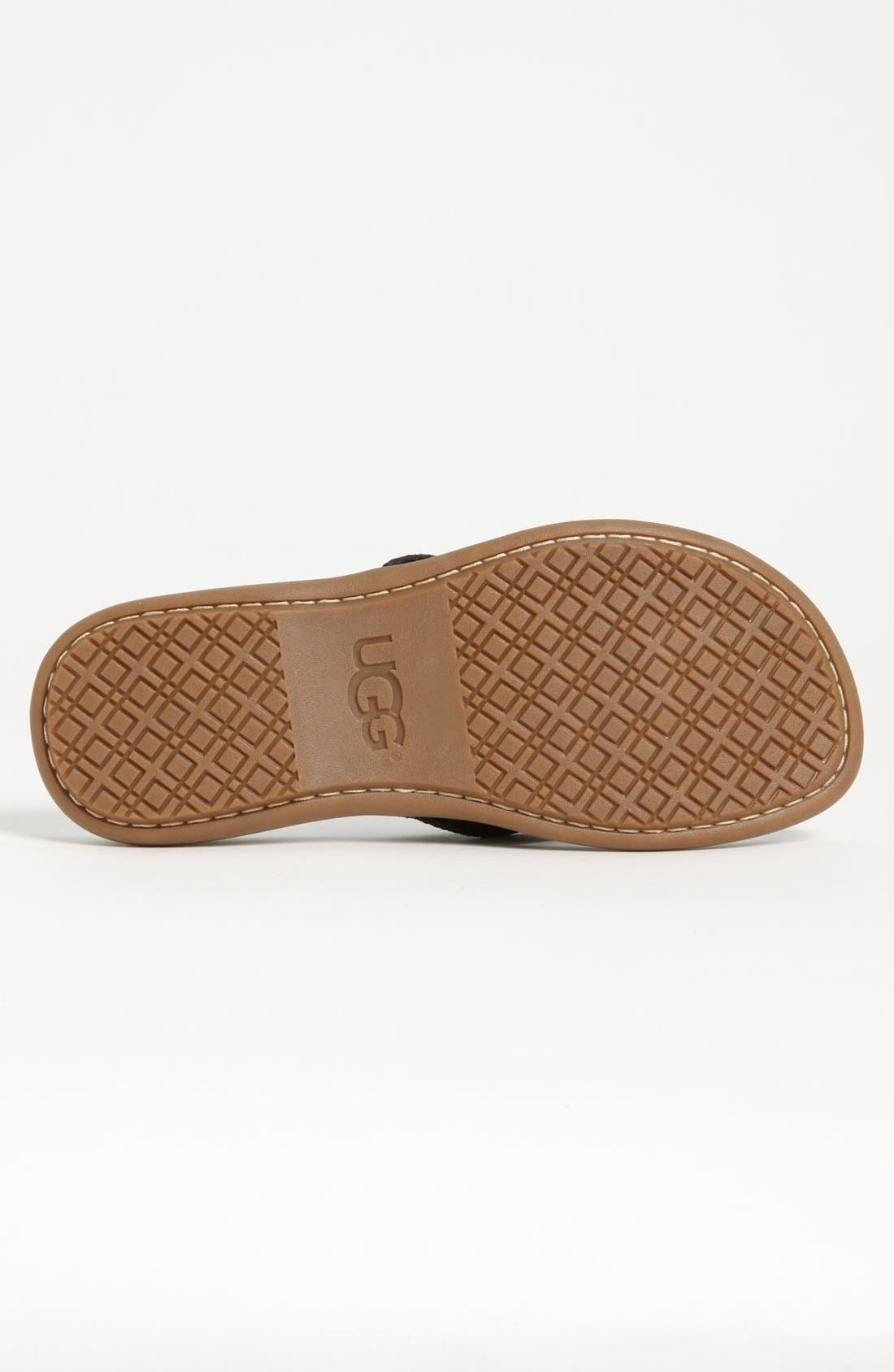 Alternate Image 4  - UGG® Australia 'Hegger' Flip Flop (Men)