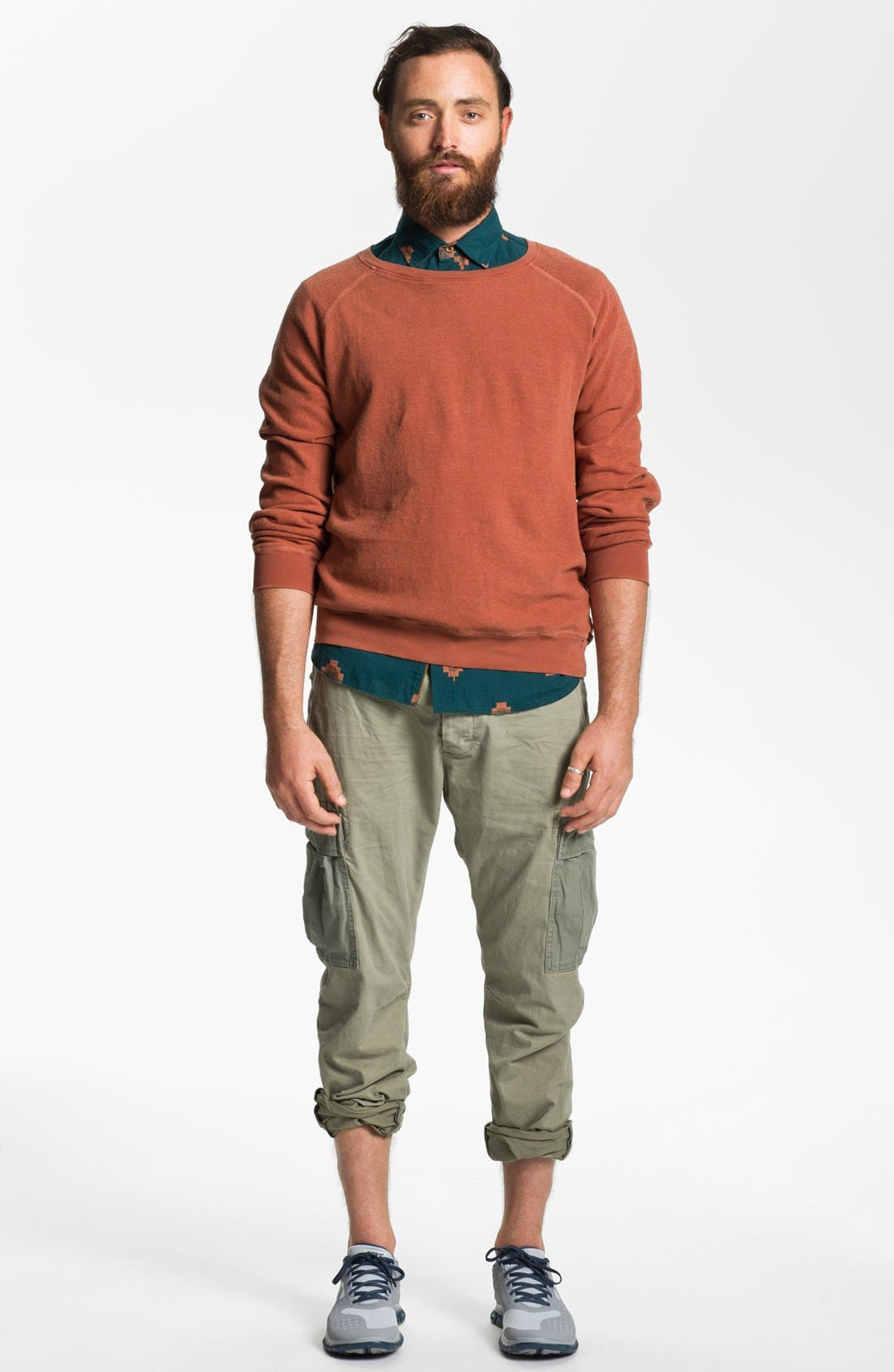 Alternate Image 4  - Scotch & Soda 'Cobain' Slim Tapered Leg Cargo Pants