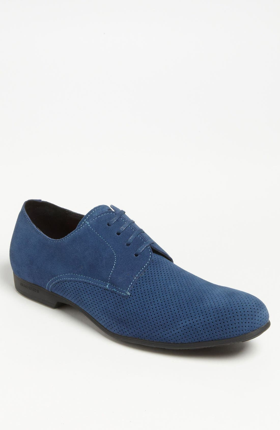 Alternate Image 1 Selected - Bugatchi 'Max' Suede Derby
