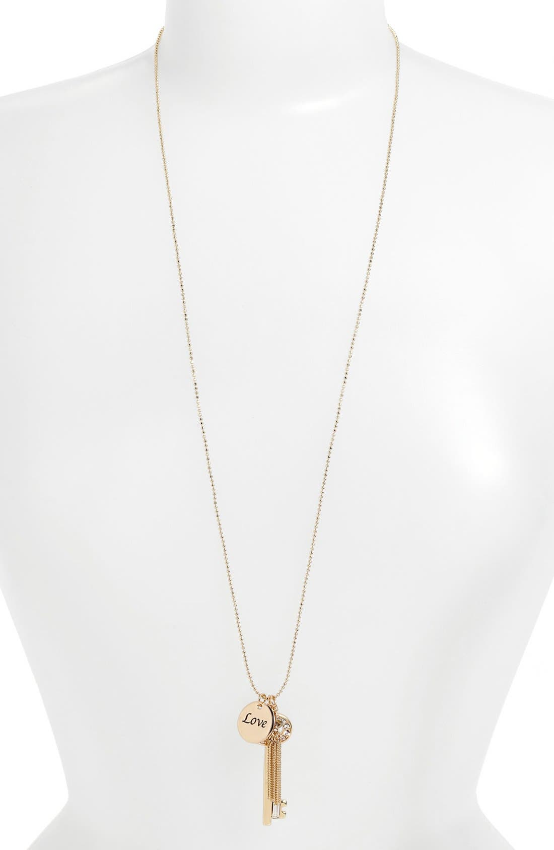 Alternate Image 2  - Nordstrom 'Love Languages' Long Charm Necklace