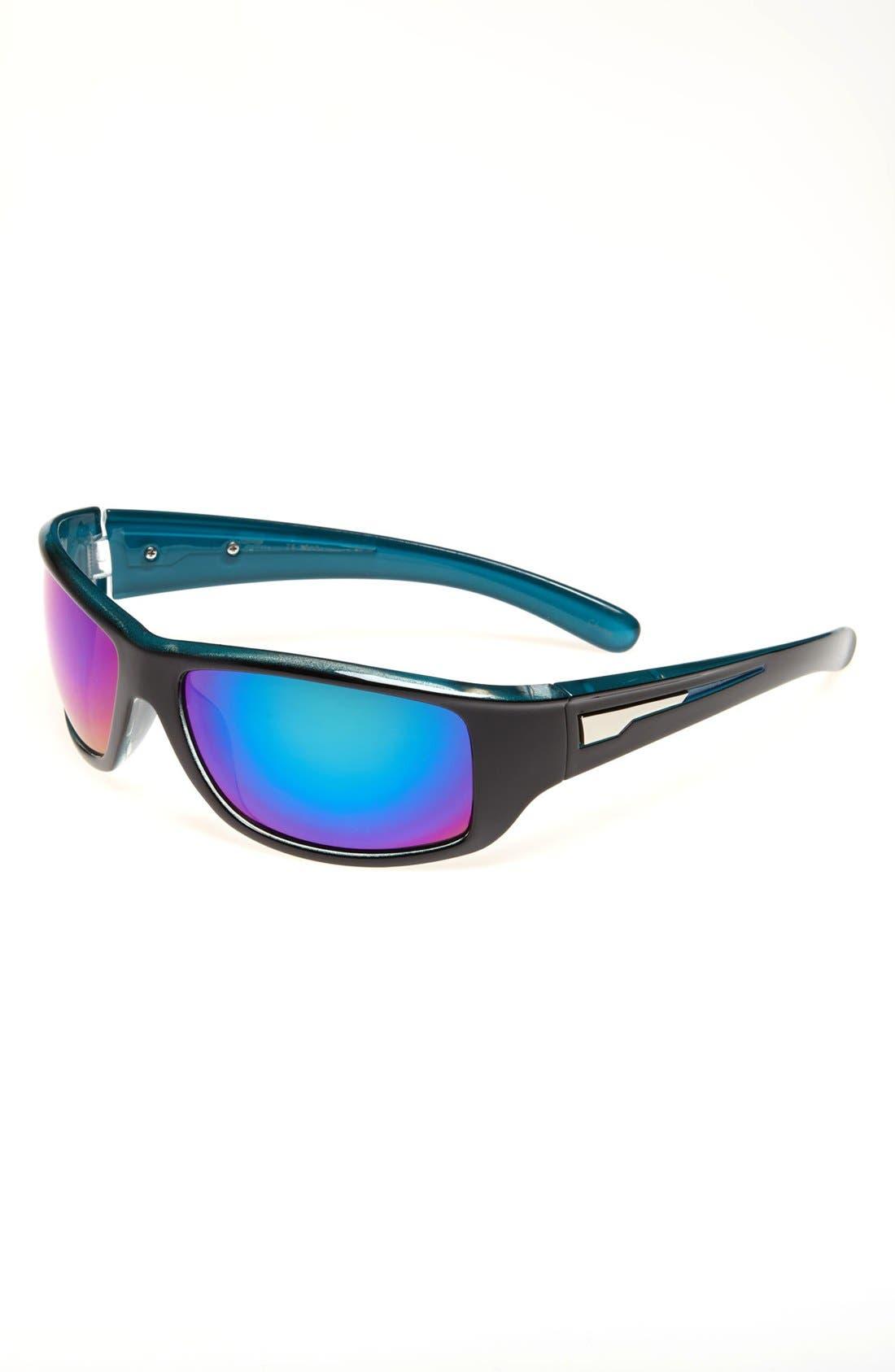 Alternate Image 1 Selected - Icon Eyewear Sport Wrap Sunglasses (Boys)