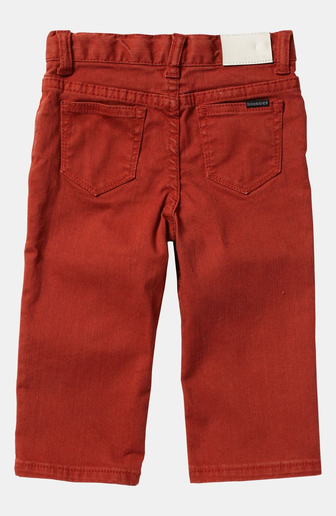 Alternate Image 1 Selected - Quiksilver 'Distortion' Slim Straight Leg Jeans (Toddler)