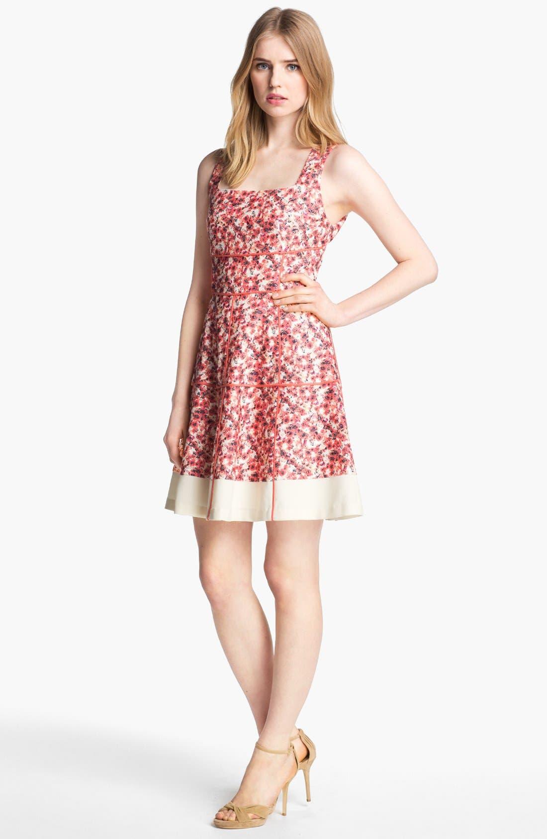Main Image - Mcginn 'Sissy' Floral Print Dress