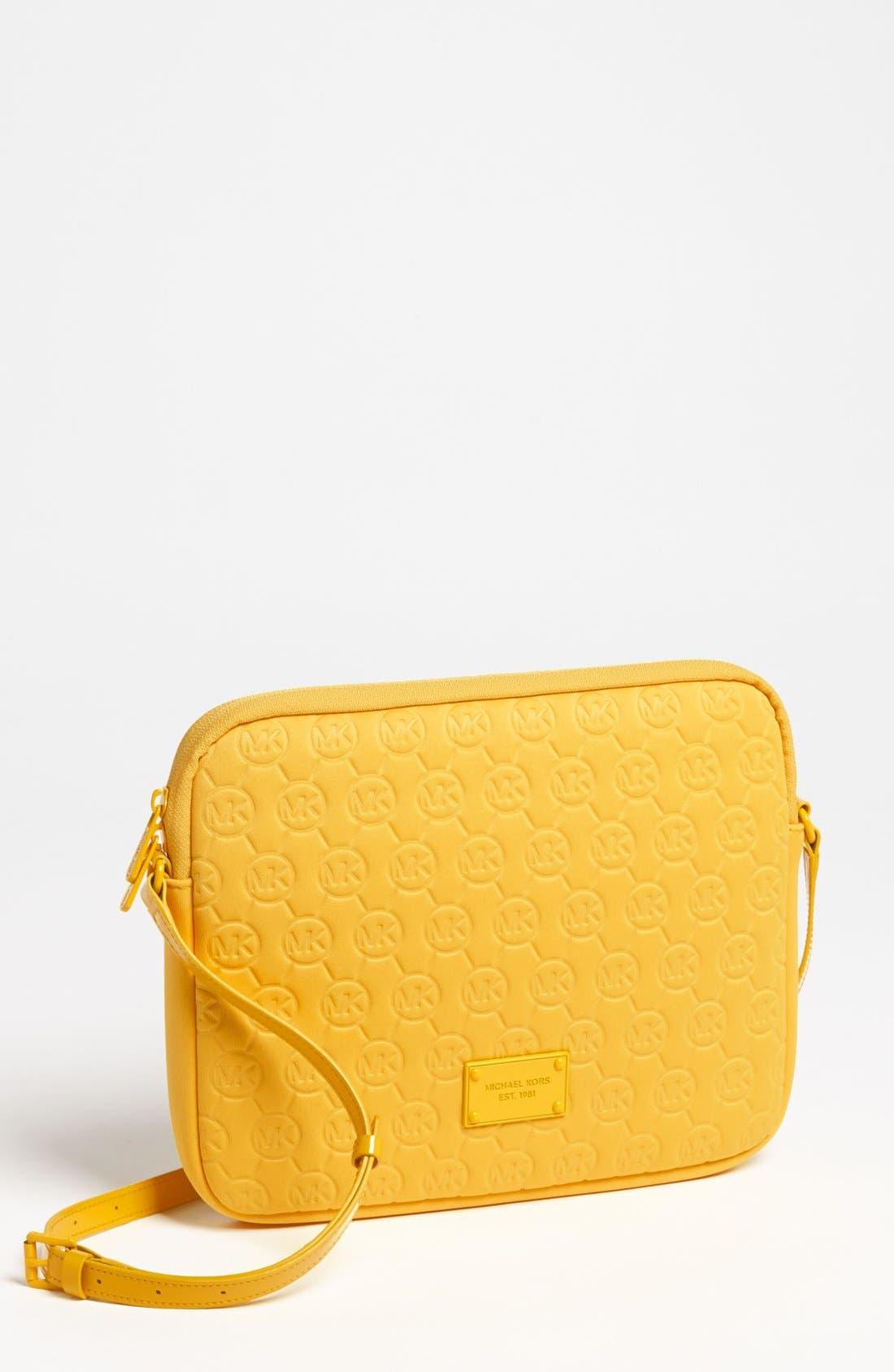 Alternate Image 1 Selected - MICHAEL Michael Kors iPad 2 Crossbody Bag