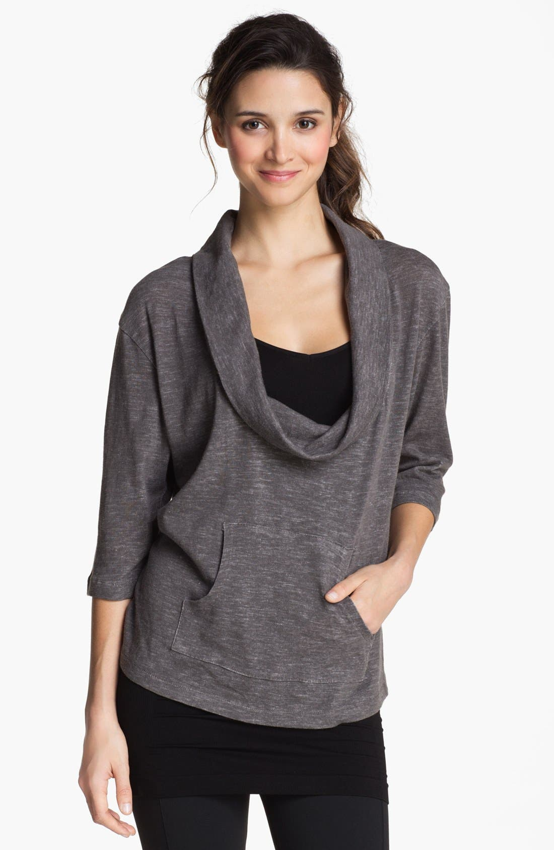Alternate Image 1 Selected - Alo 'Lucidity' Drape Neck Top