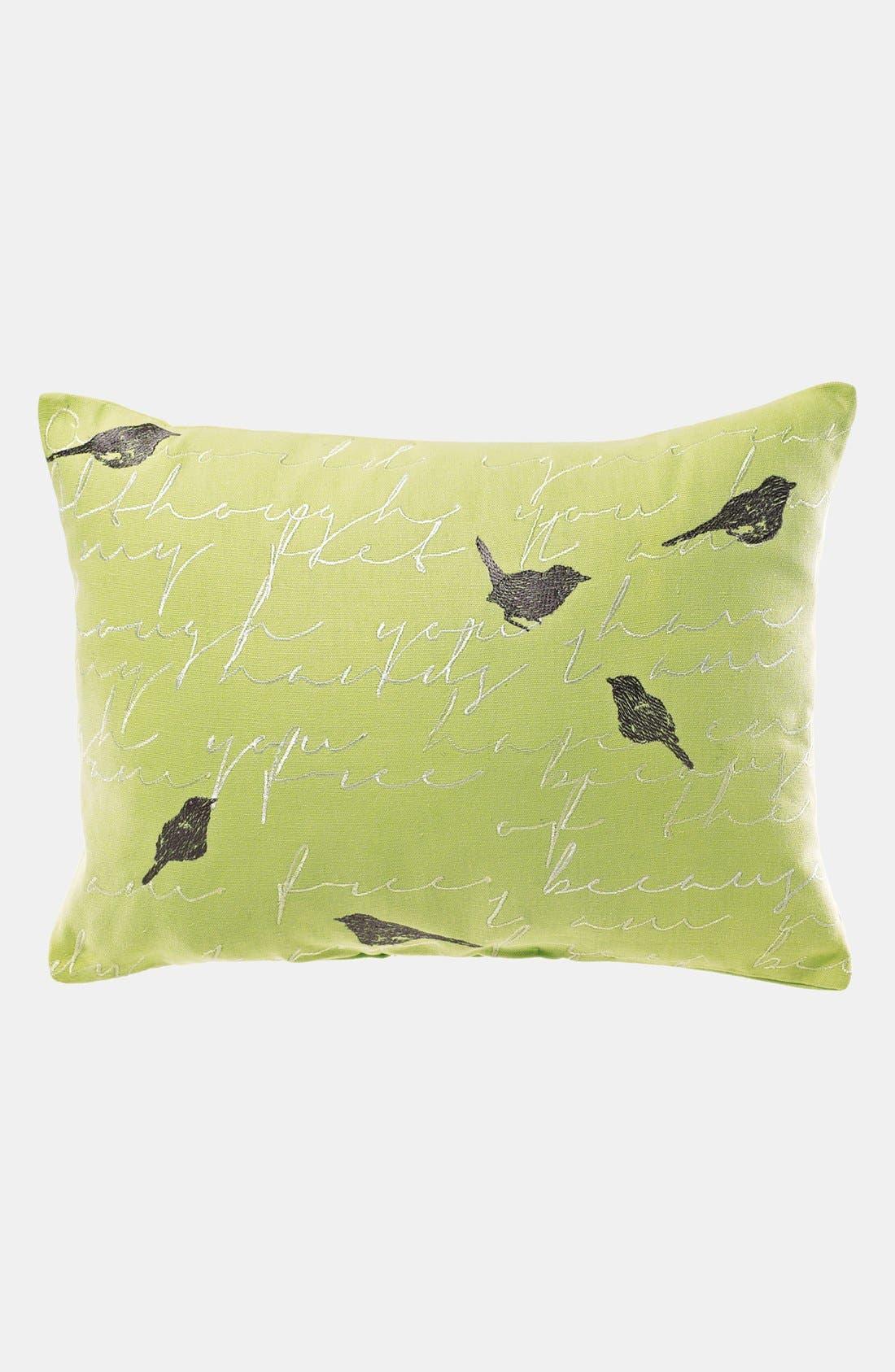 'Brigette' Pillow,                             Main thumbnail 1, color,                             Sage