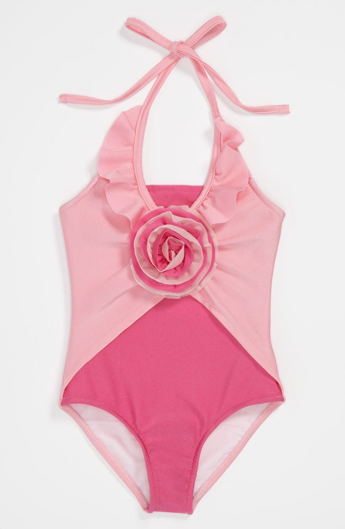 Alternate Image 1 Selected - Love U Lots One Piece Swimsuit (Toddler, Little Girls & Big Girls)