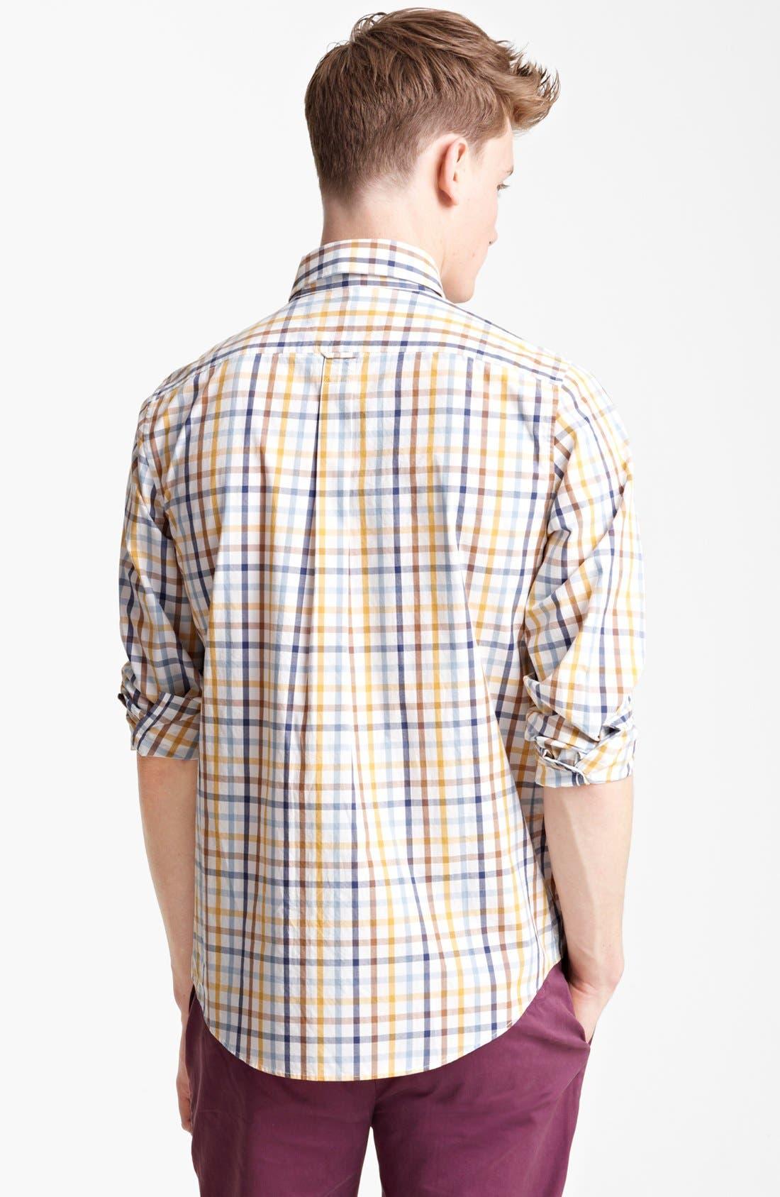 Alternate Image 2  - Jack Spade 'Popson' Check Sport Shirt