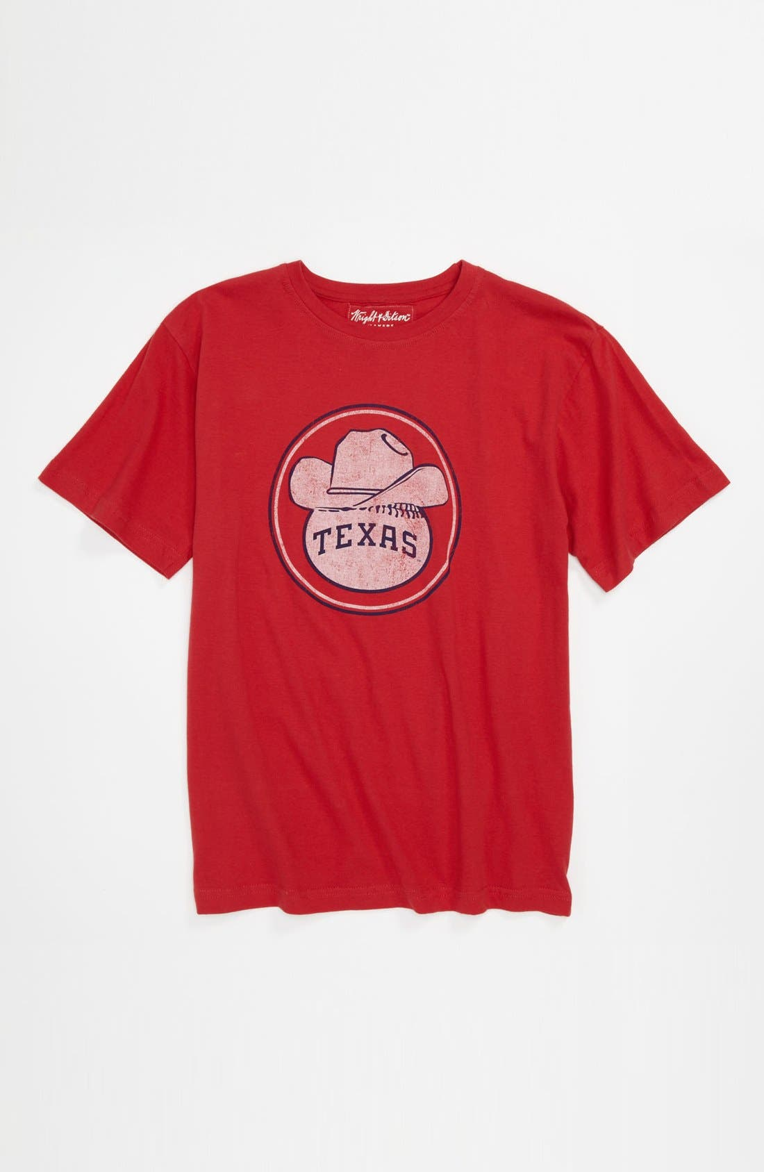 Alternate Image 1 Selected - Wright & Ditson 'Texas Rangers' T-Shirt (Little Boys & Big Boys)