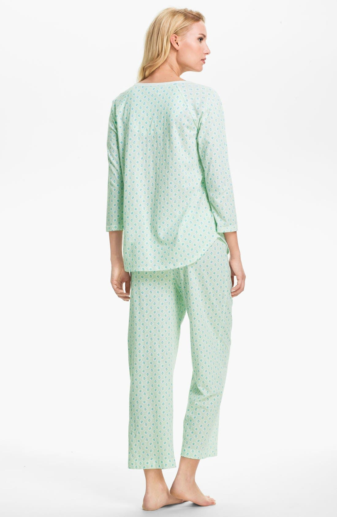 Alternate Image 2  - Carole Hochman Designs 'Vintage Rose' Pajamas