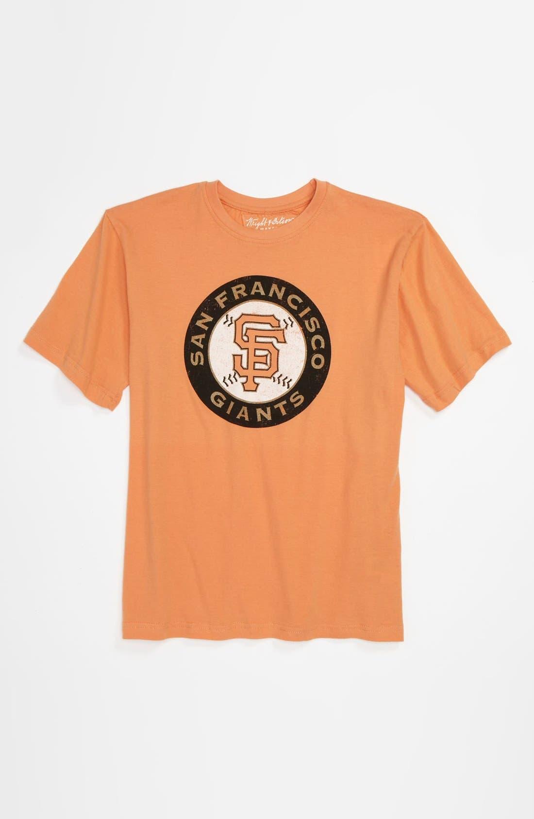 Alternate Image 1 Selected - Wright & Ditson 'San Francisco Giants' T-Shirt (Little Boys & Big Boys)