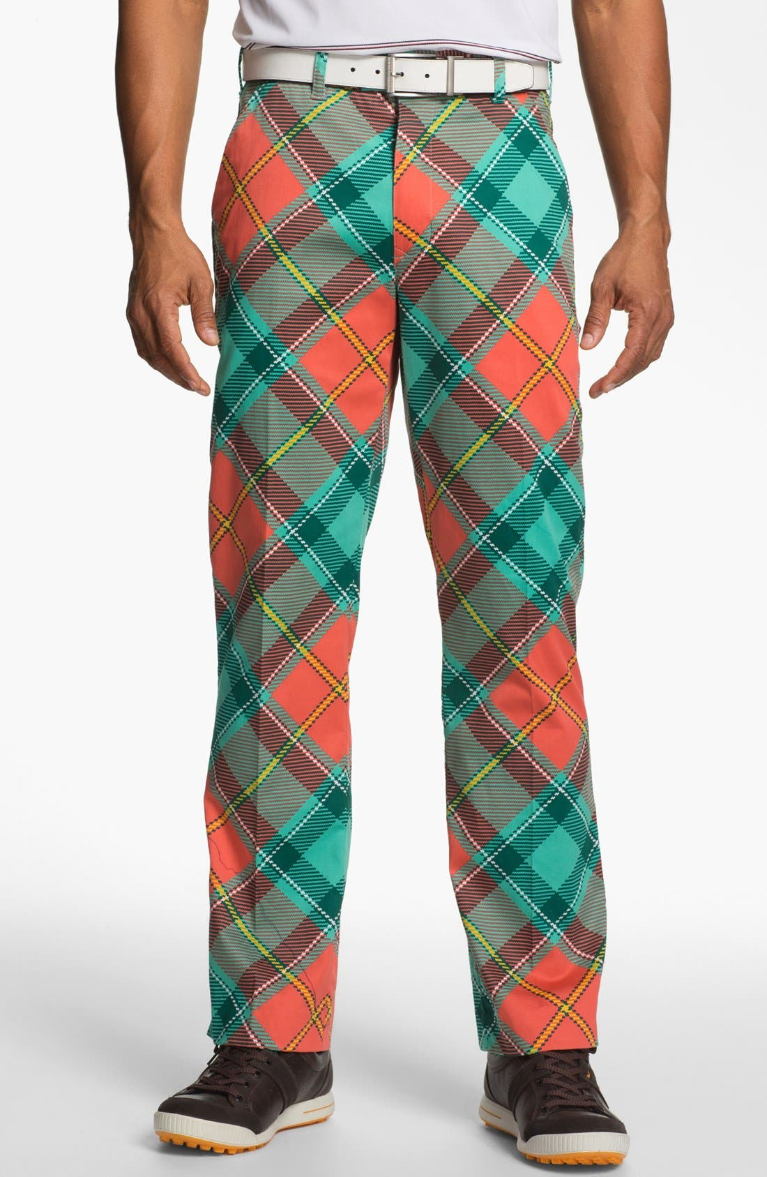 Main Image - Loudmouth Golf 'Just Peachy' Golf Pants