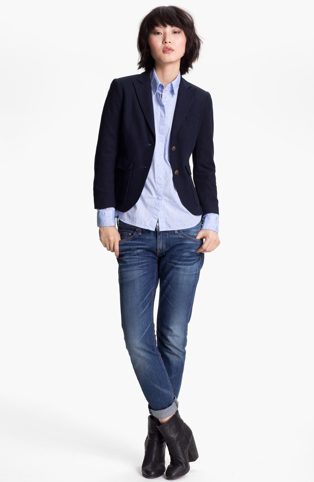 Alternate Image 2  - rag & bone 'Nancy' Blazer