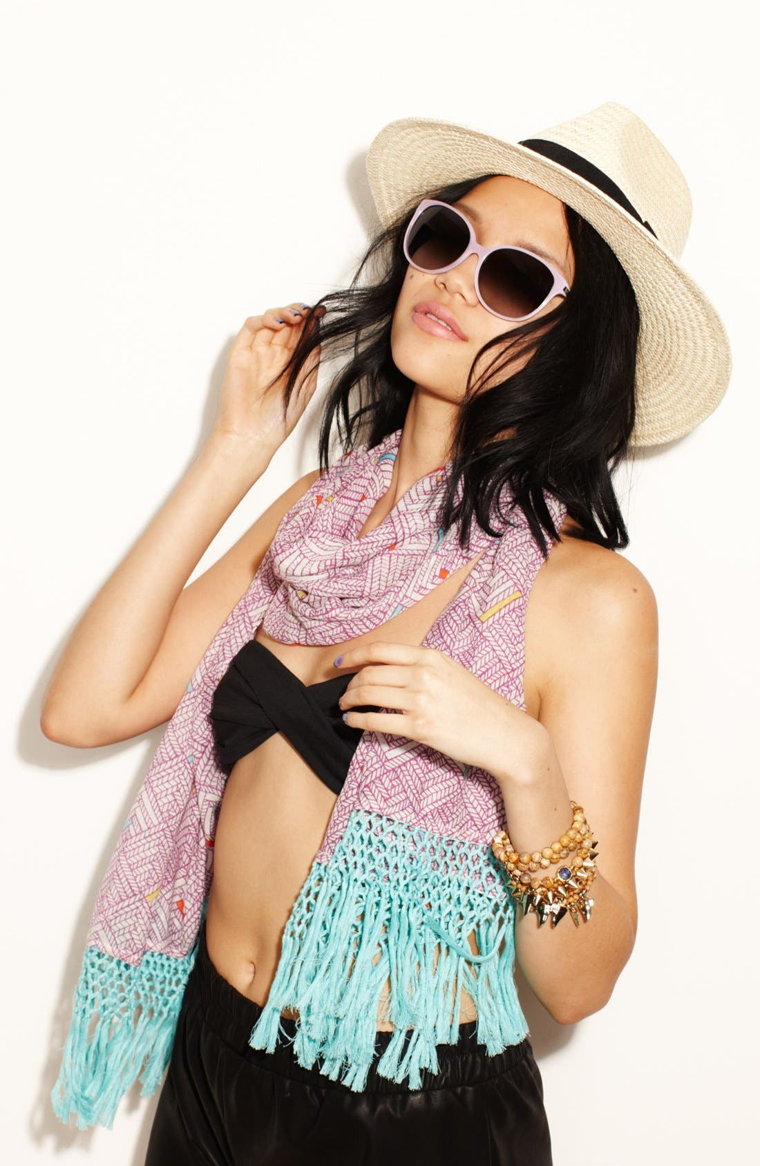 Alternate Image 3  - Trouvé Straw Panama Hat