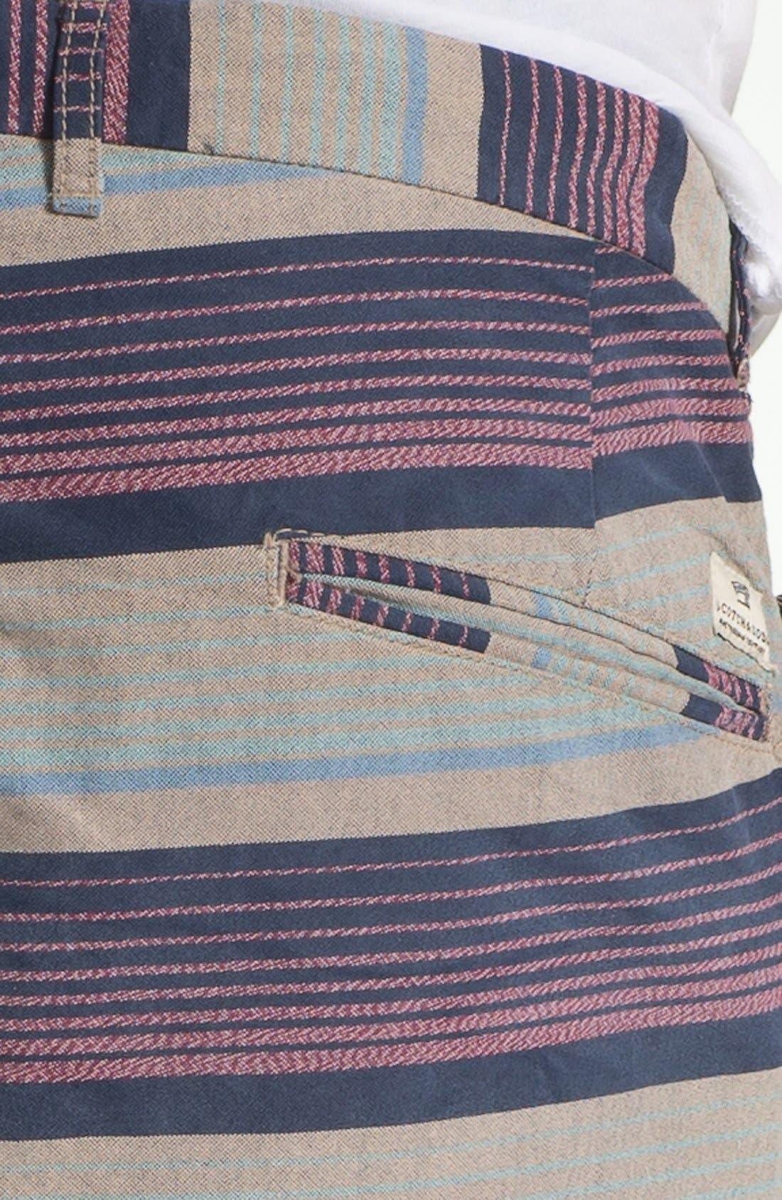 Alternate Image 3  - Scotch & Soda Stripe Chino Shorts