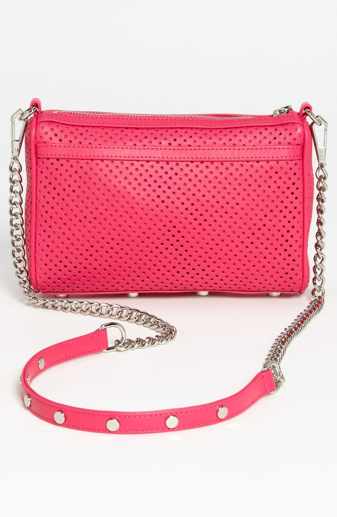 Alternate Image 4  - Rebecca Minkoff 'Mini MAC' Perforated Leather Clutch