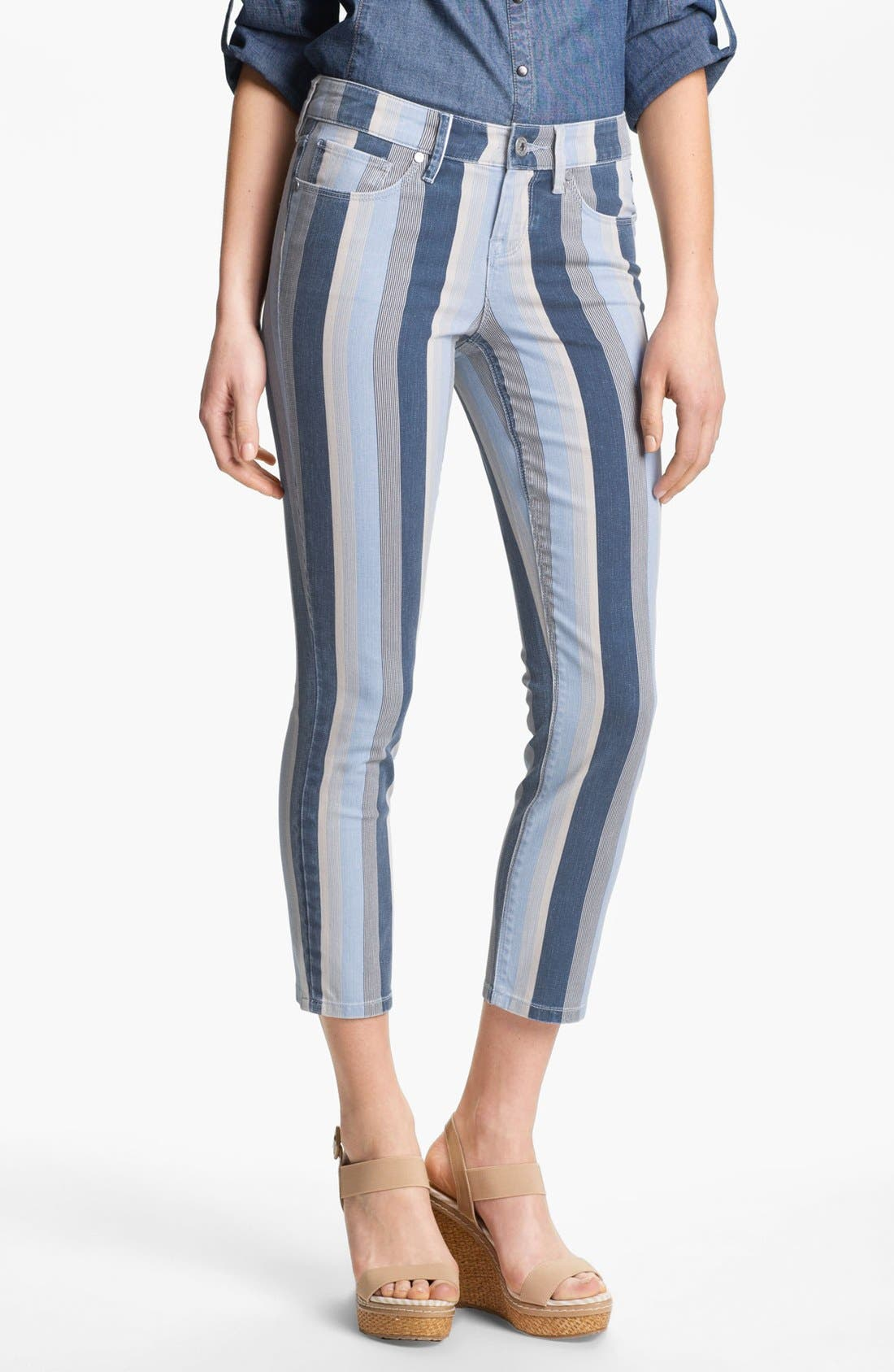 Main Image - Isaac Mizrahi Jeans 'Ali' Slim Straight Leg Jeans