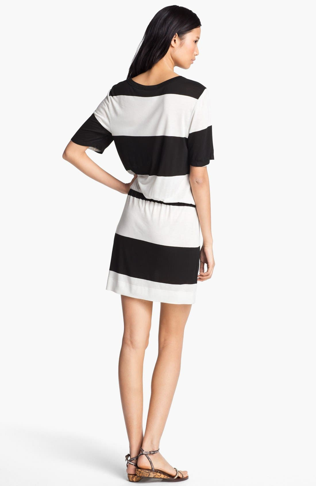 Alternate Image 2  - A.L.C. 'Finn' Stripe Dress