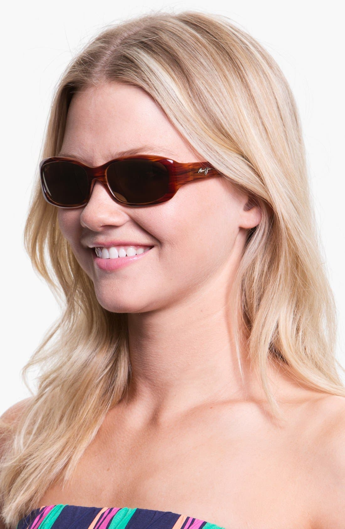 Alternate Image 2  - Maui Jim Punchbowl 54mm PolarizedPlus2® Rectangular Sunglasses
