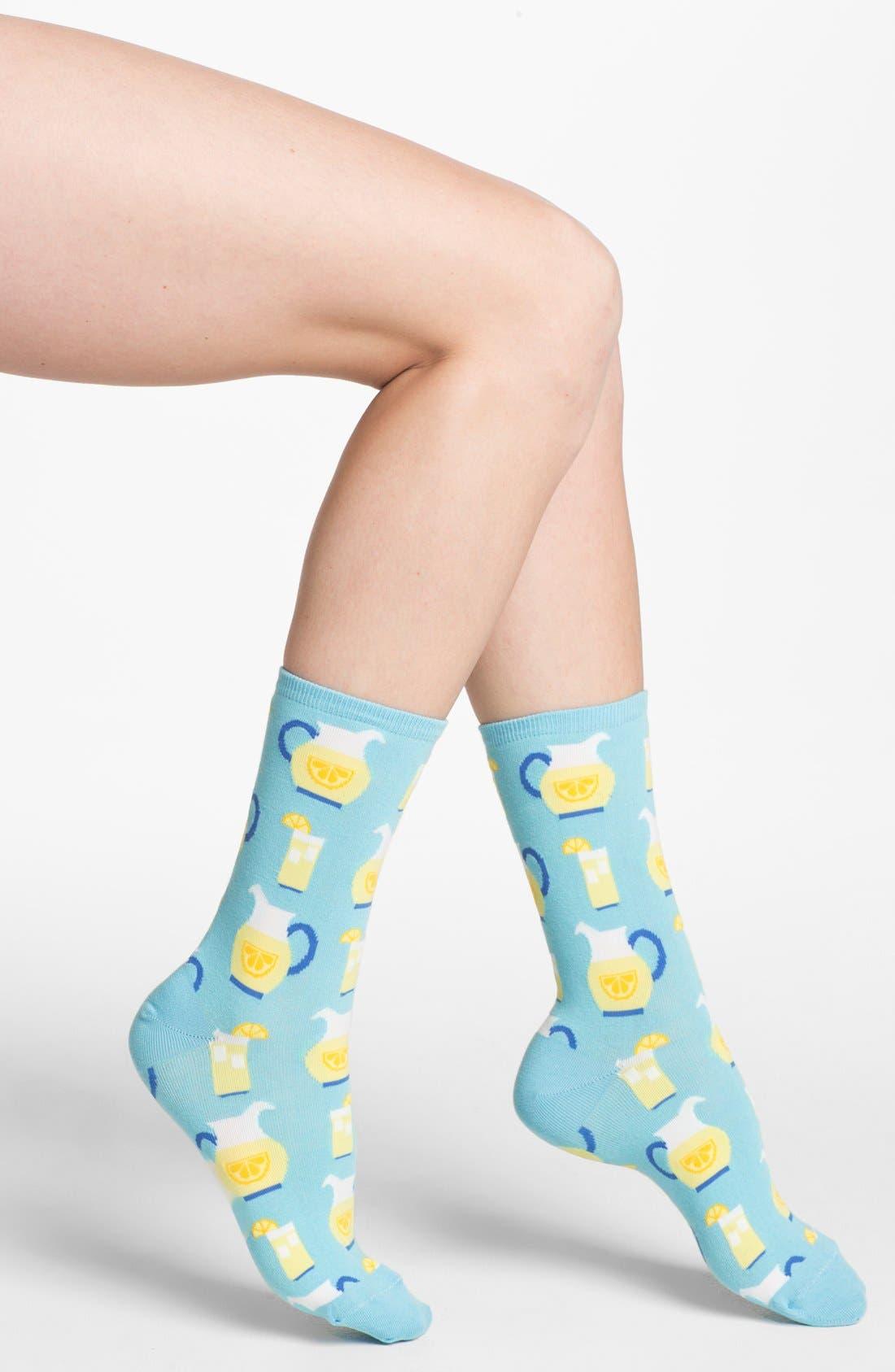Main Image - Hot Sox 'Lemonade' Socks