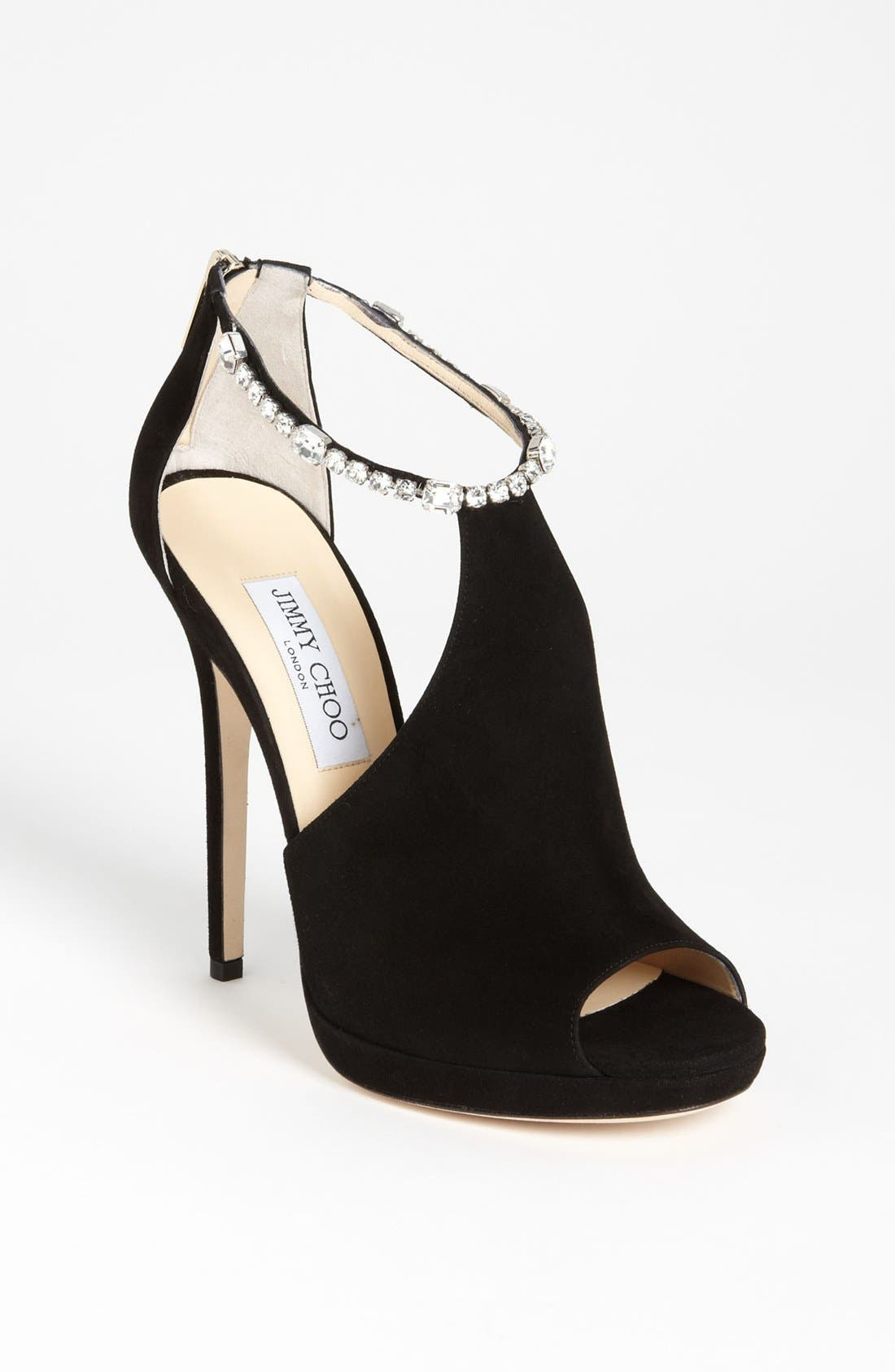 Alternate Image 1 Selected - Jimmy Choo Crystral Strap Bootie