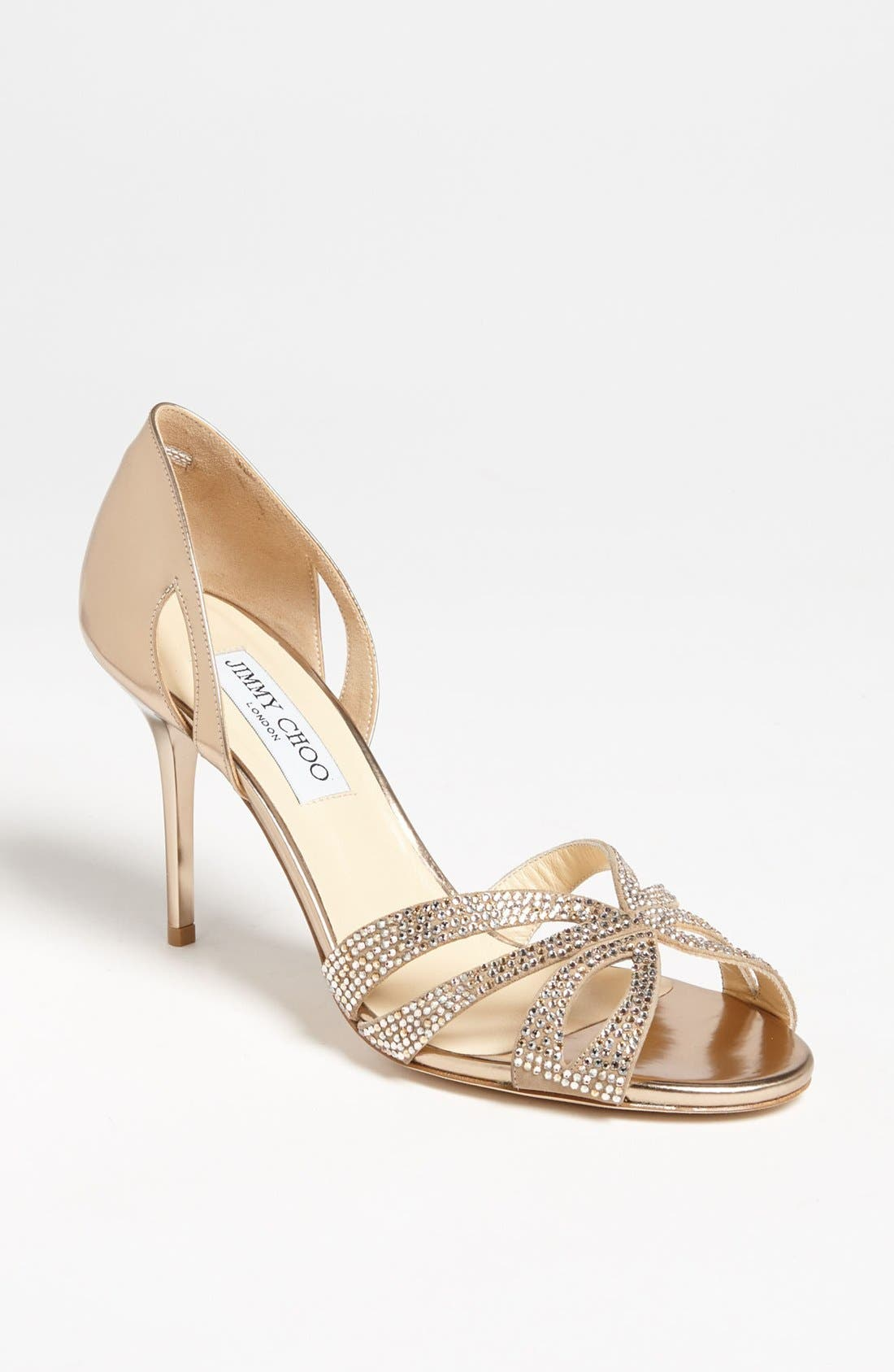 Main Image - Jimmy Choo 'Bauble d'Orsay' Sandal
