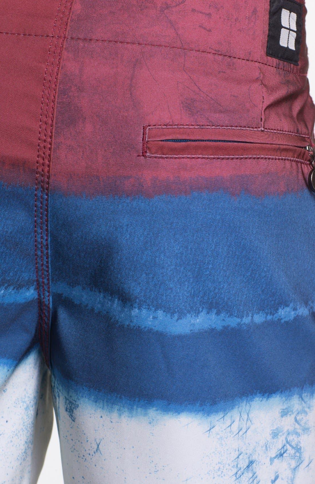 Alternate Image 3  - Insight 'Le Blur - Bunker' Board Shorts