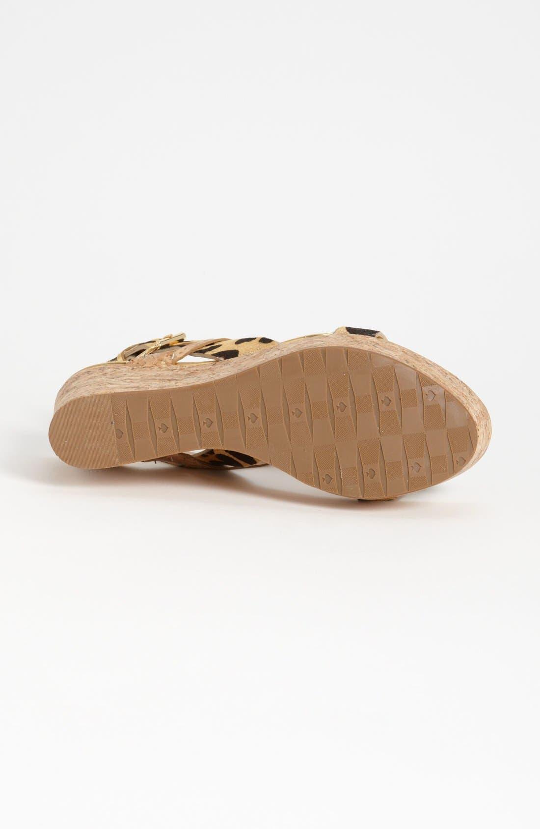 Alternate Image 4  - kate spade new york 'tegan' sandal
