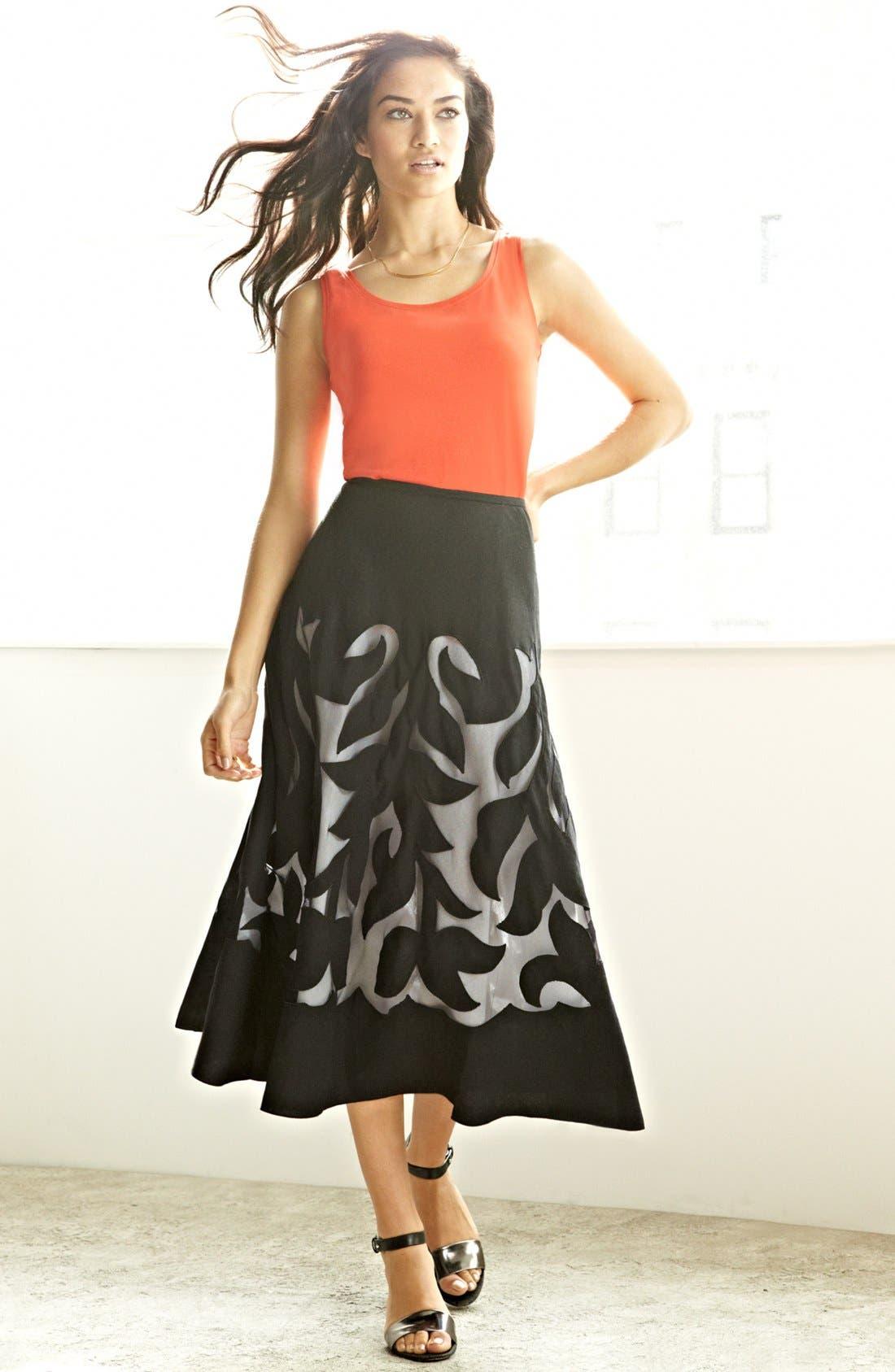 Alternate Image 4  - Nic + Zoe 'Antibes' Patio Skirt