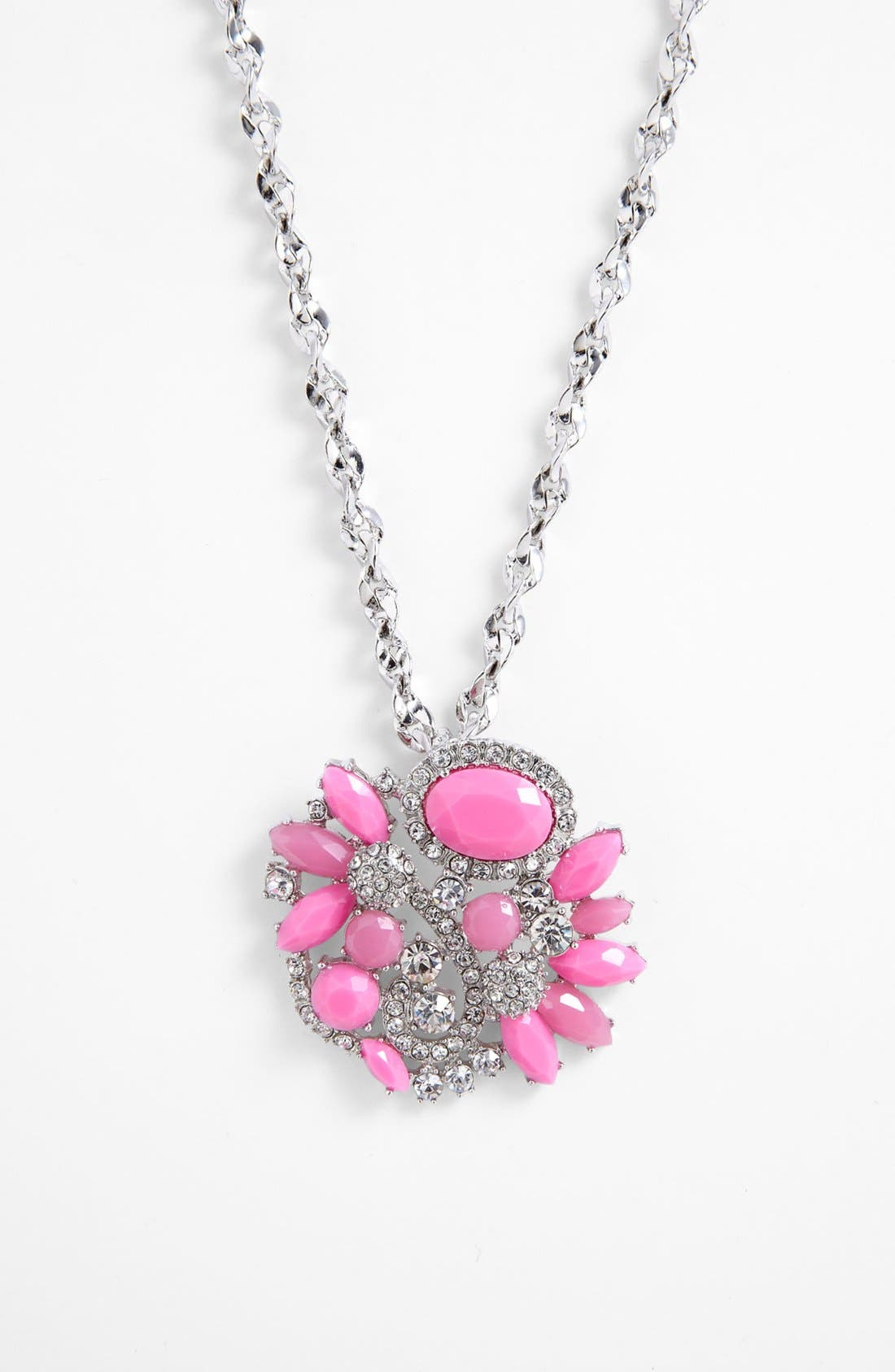 Main Image - Lydell NYC Cluster Pendant Necklace