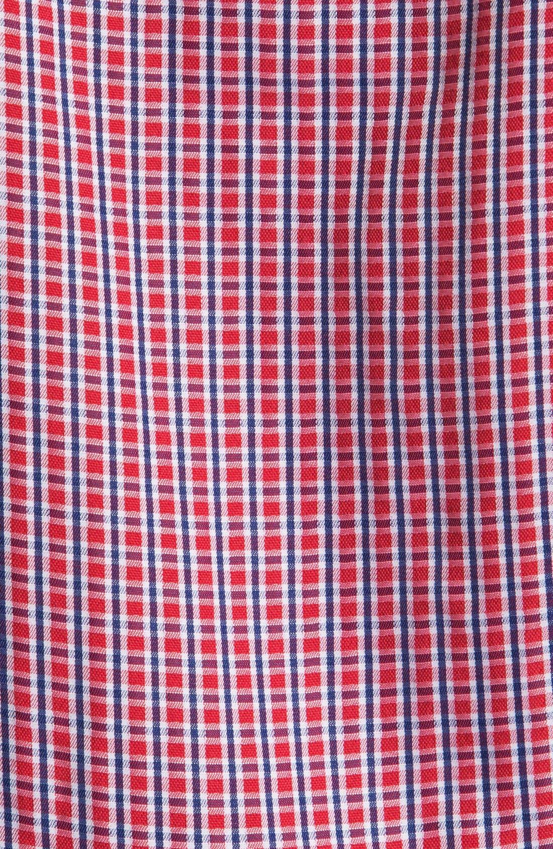 Alternate Image 3  - BUGATCHI Classic Fit Short Sleeve Sport Shirt