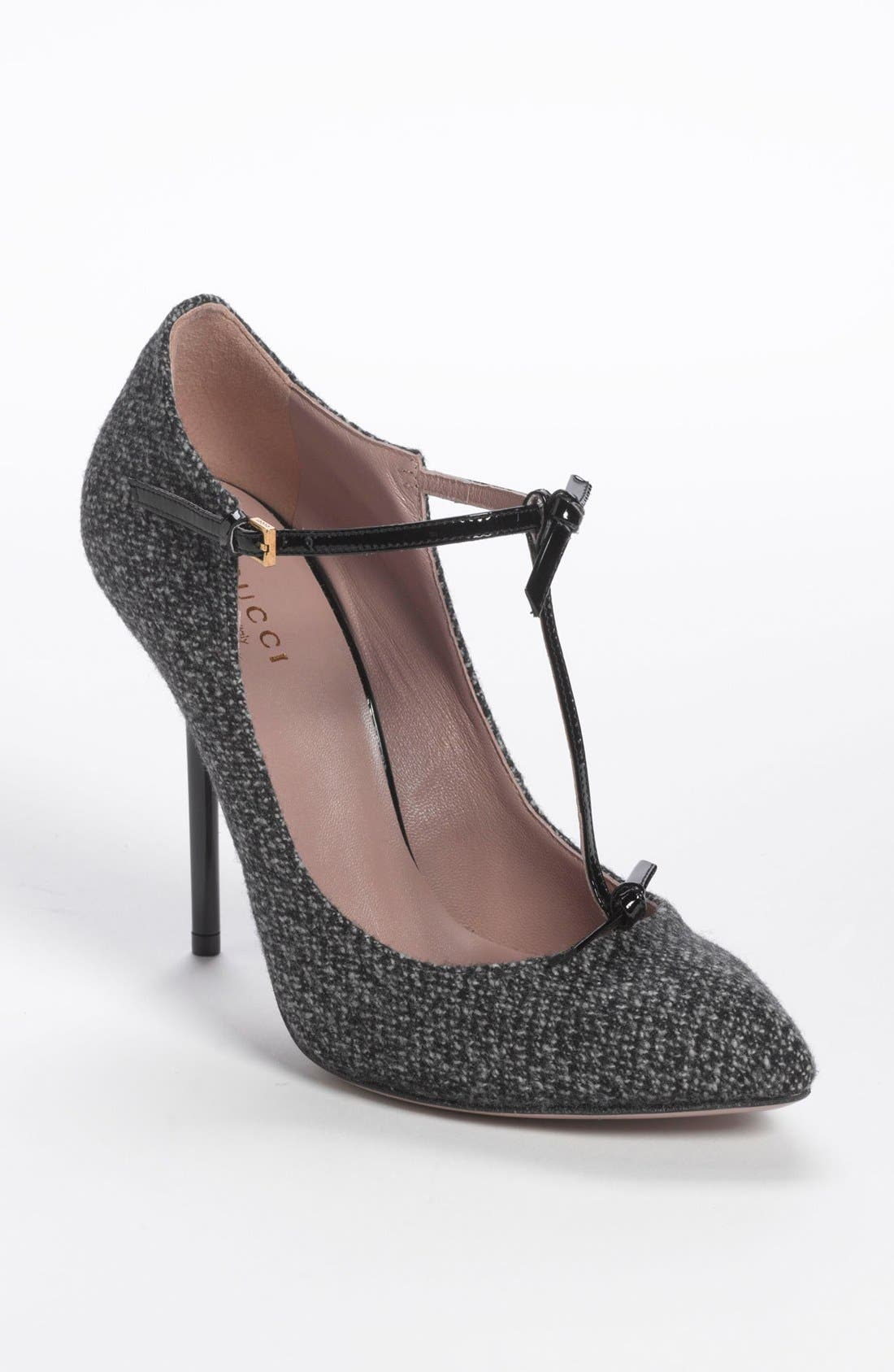 Alternate Image 1 Selected - Gucci 'Beverly' T-Strap Pump