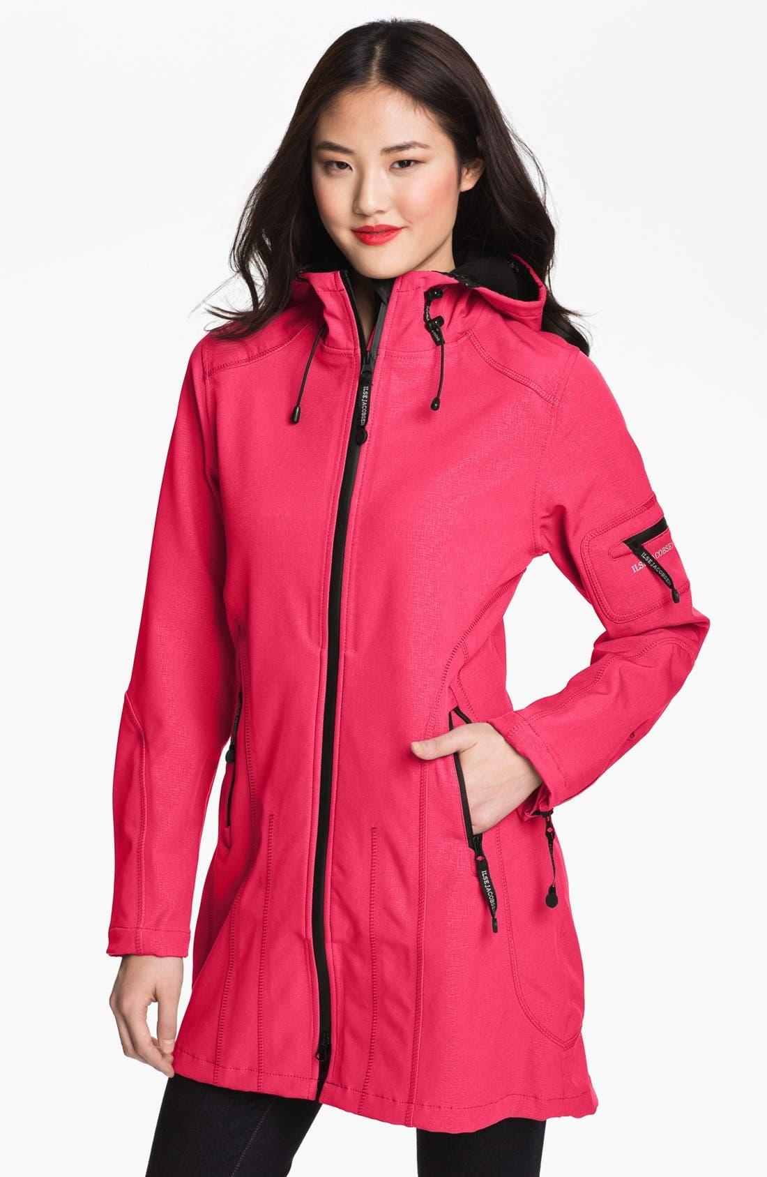 Ilse Jacobsen Rain 7 Hooded Water Resistant Coat