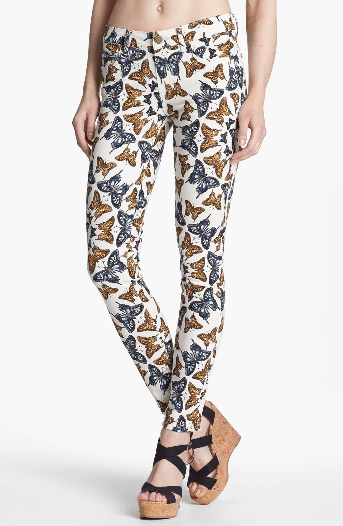 Alternate Image 1 Selected - Paige Denim 'Verdugo' Ultra Skinny Jeans (Kaleidoscope)