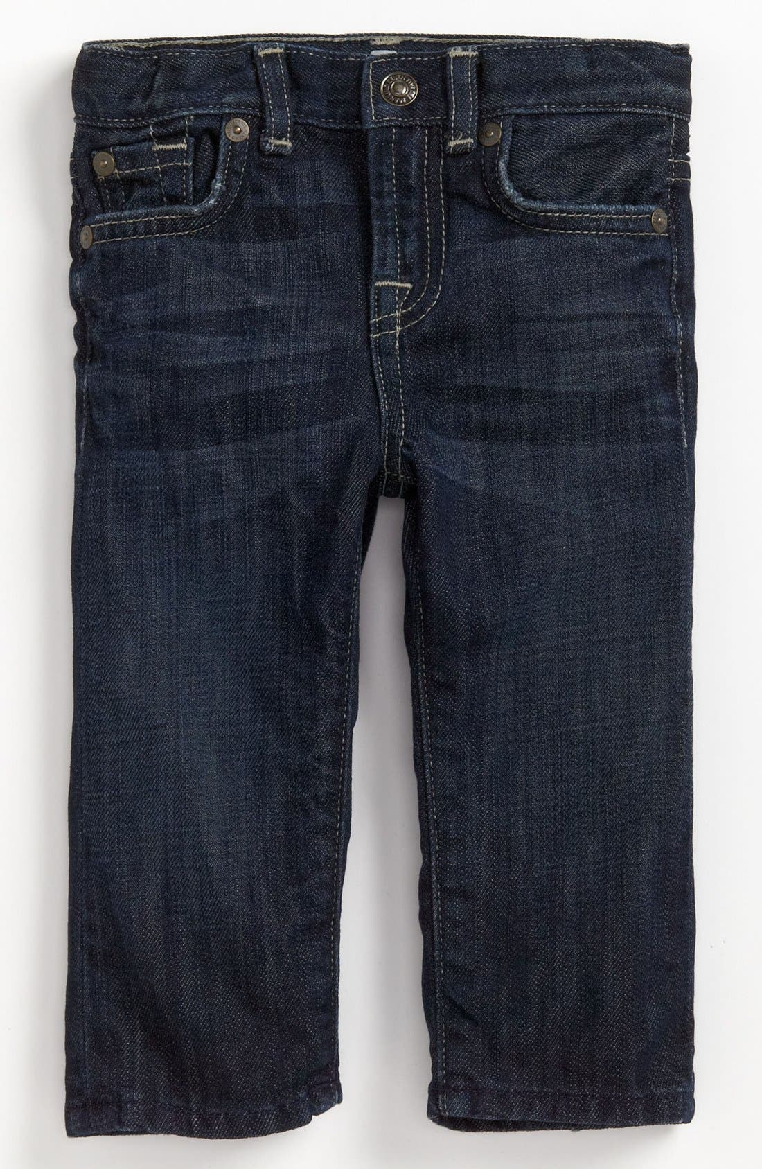 Alternate Image 2  - 7 For All Mankind® 'Standard' Straight Leg Jeans (Baby Boys) (Online Only)