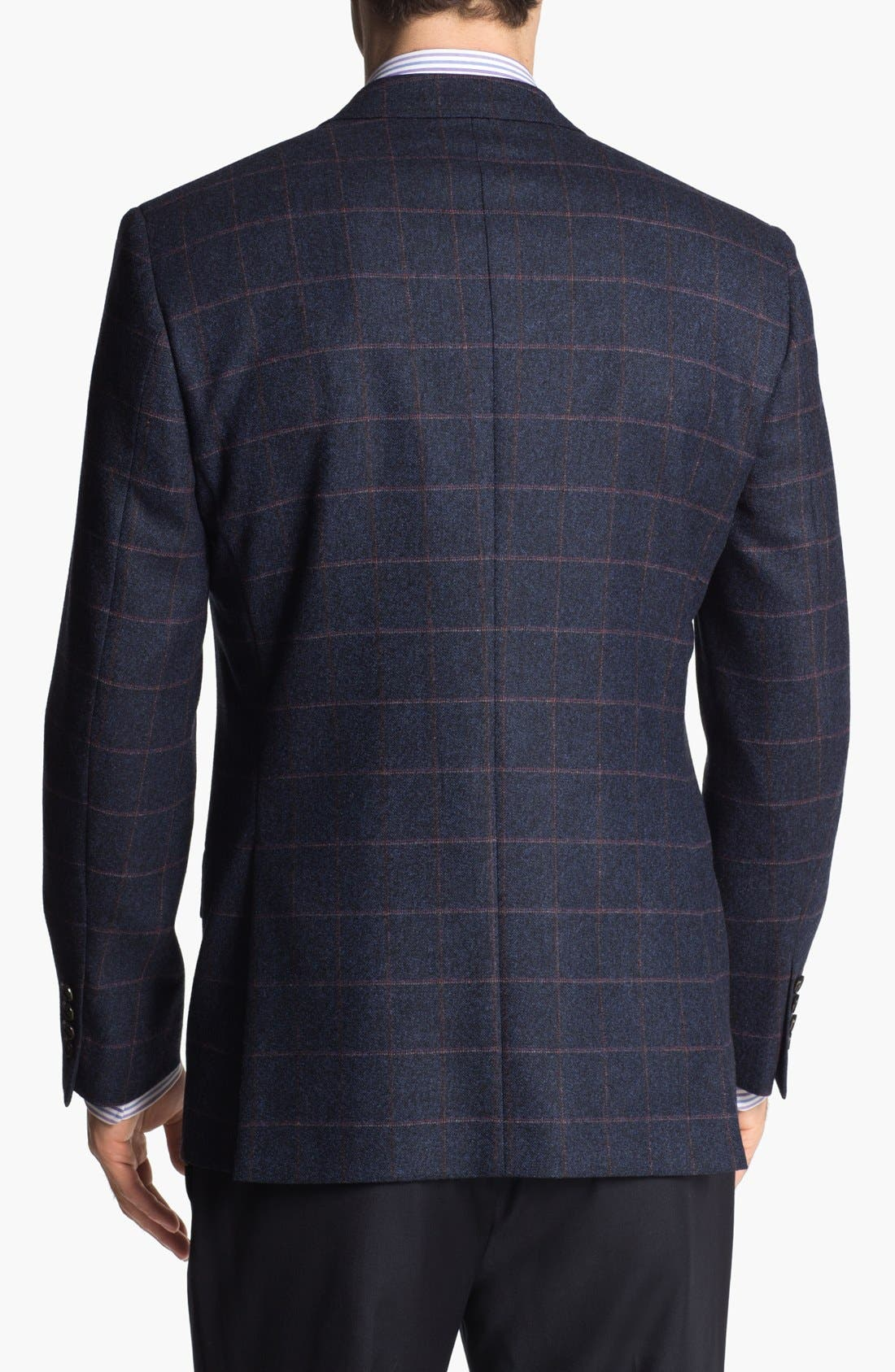 Alternate Image 3  - Ted Baker London 'Jim' Trim Fit Plaid Sportcoat (Online Only)