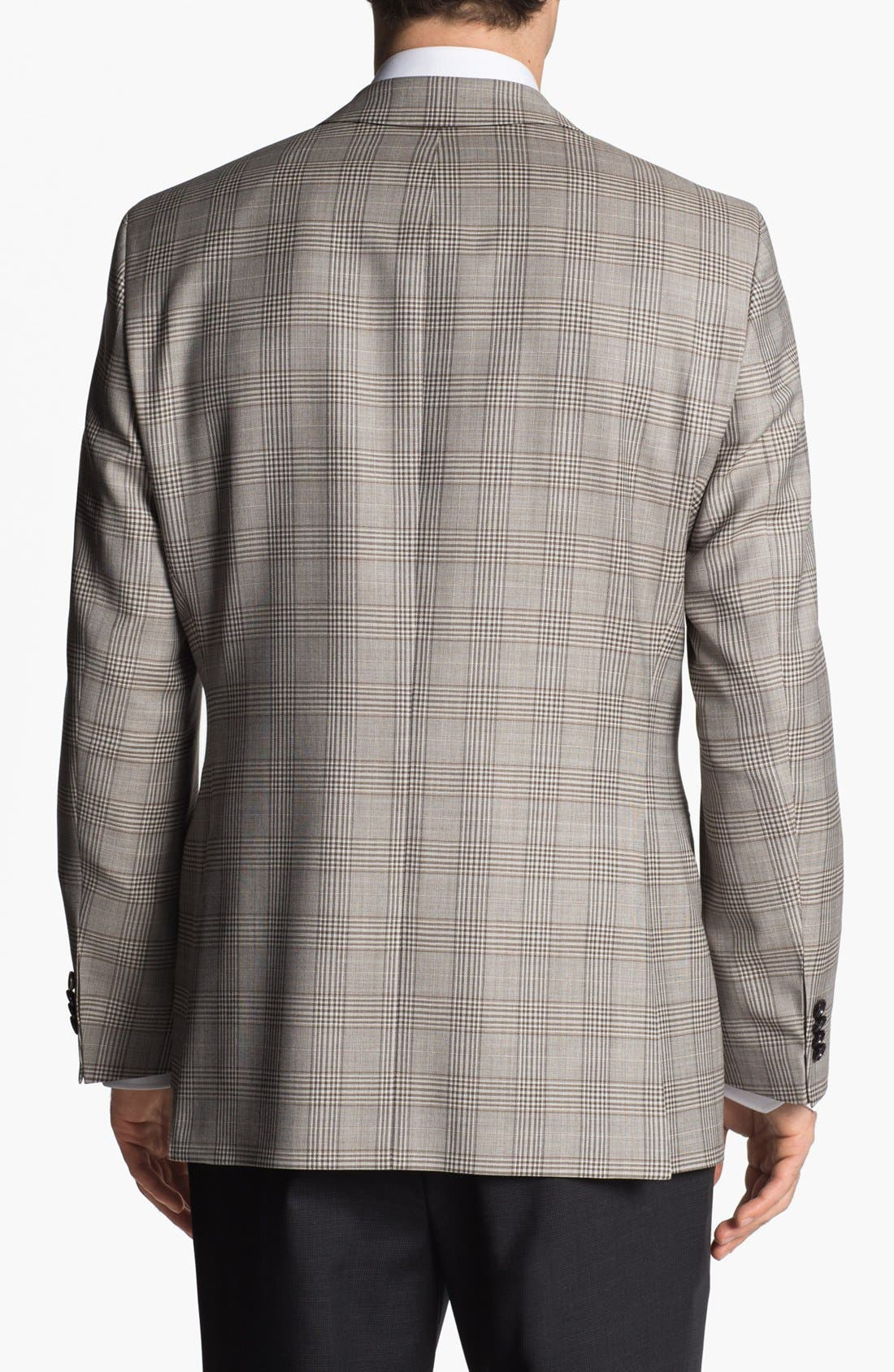 Alternate Image 3  - BOSS HUGO BOSS 'Pasini' Glen Plaid Sportcoat
