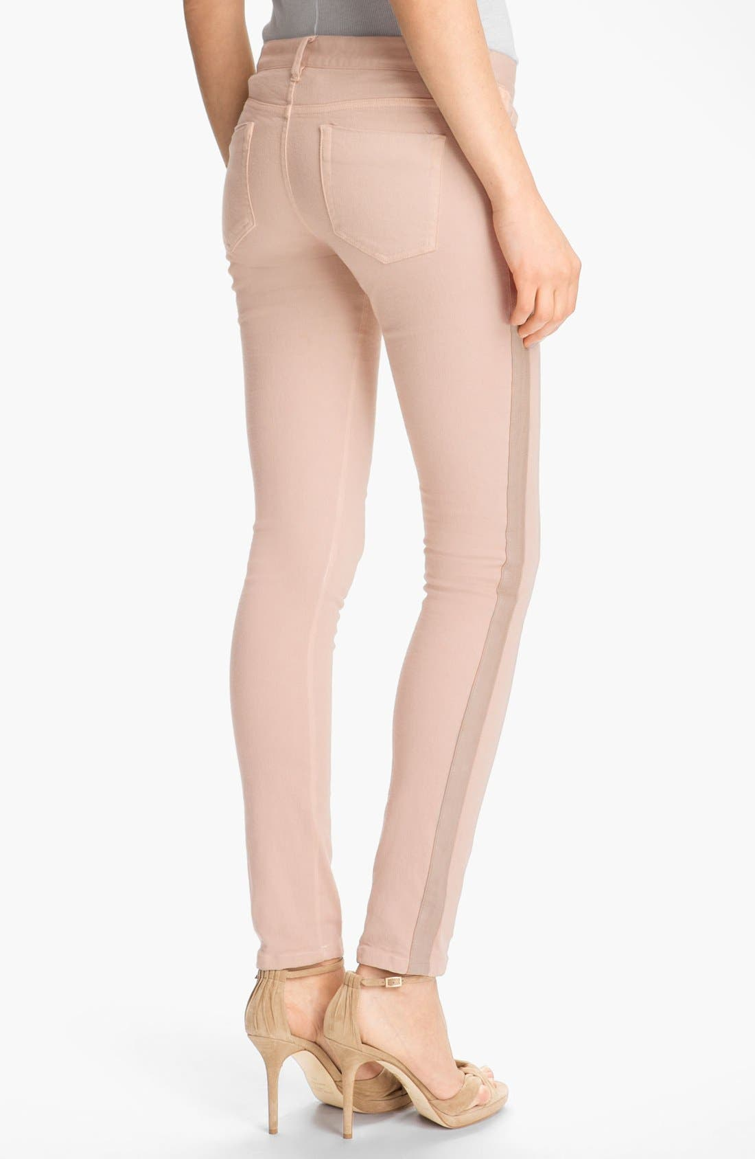 Alternate Image 2  - Haute Hippie Tuxedo Stripe Jeans