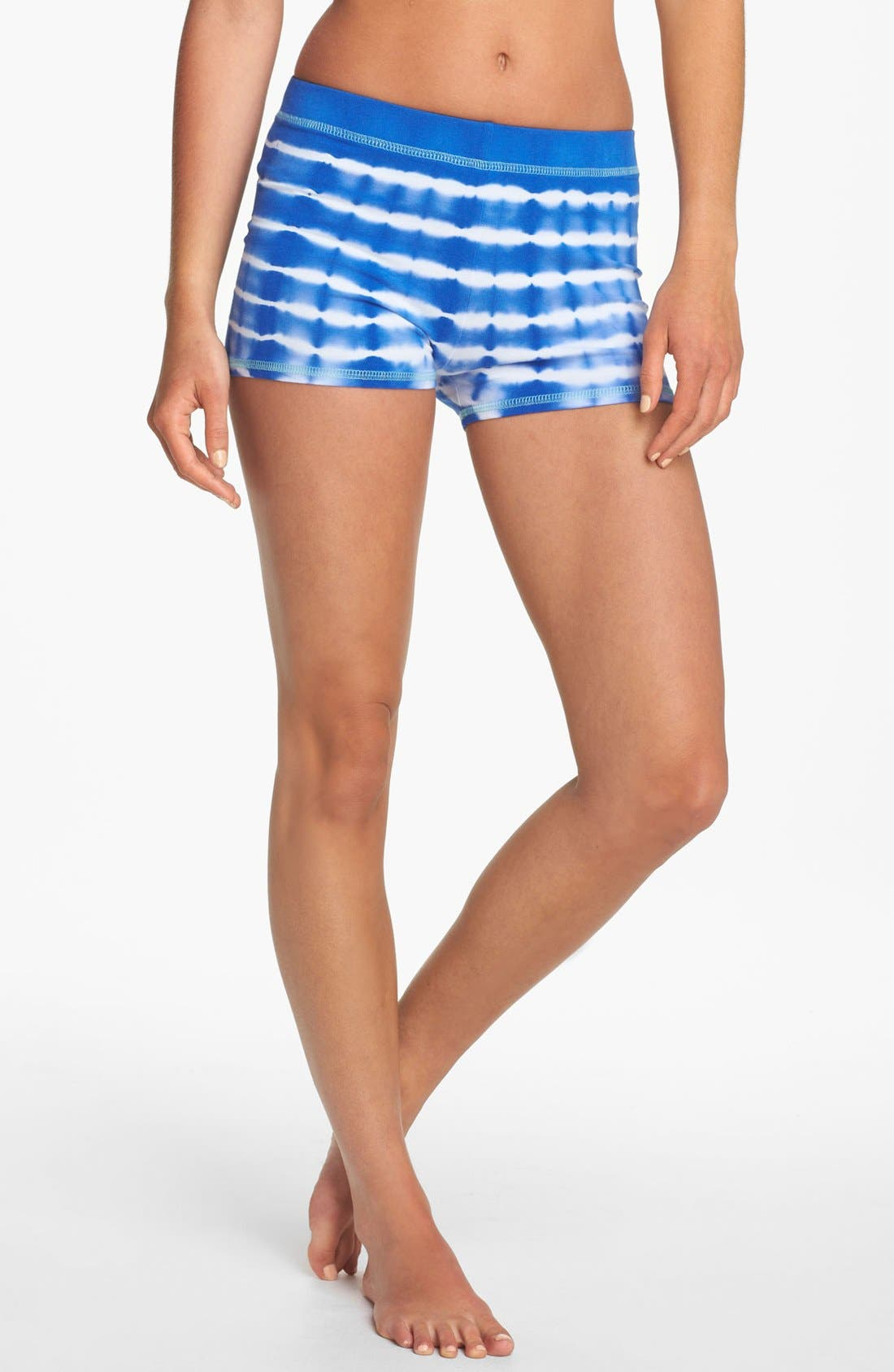 Alternate Image 1 Selected - Solow Tie Dye Yoga Shorts