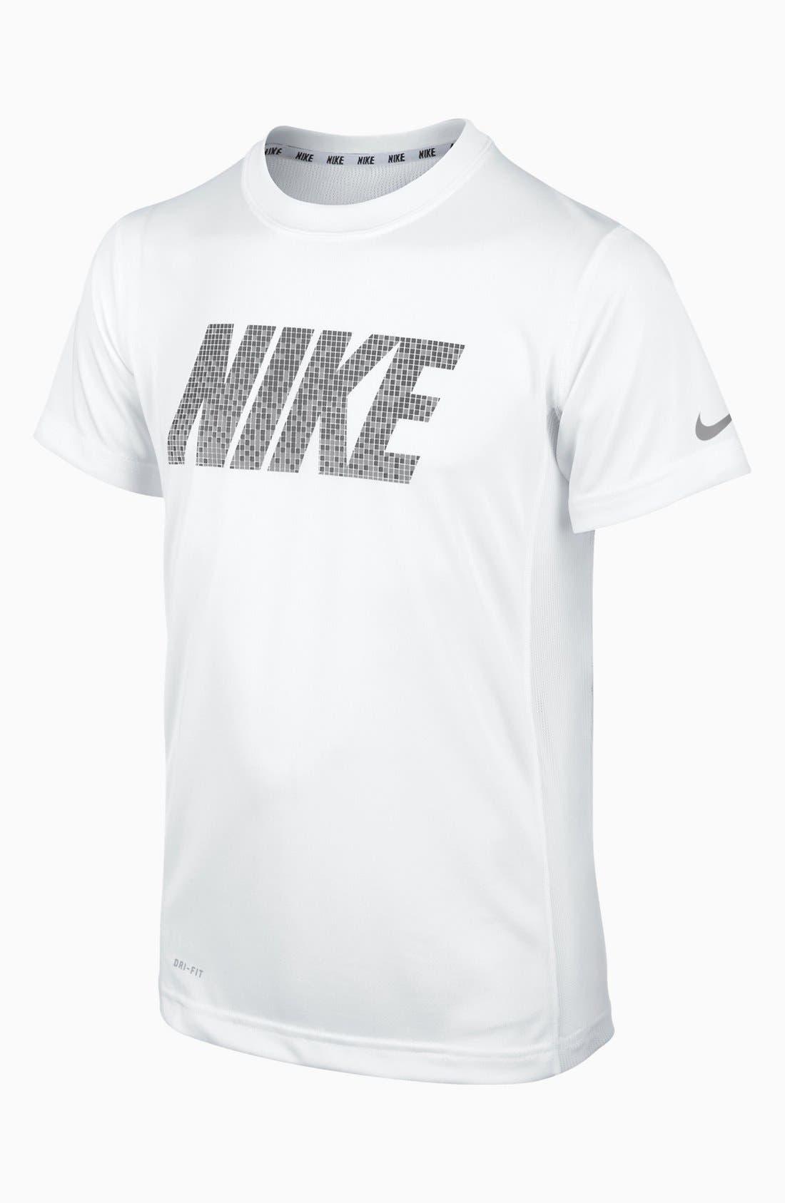 Alternate Image 1 Selected - Nike 'Speed' T-Shirt (Big Boys)