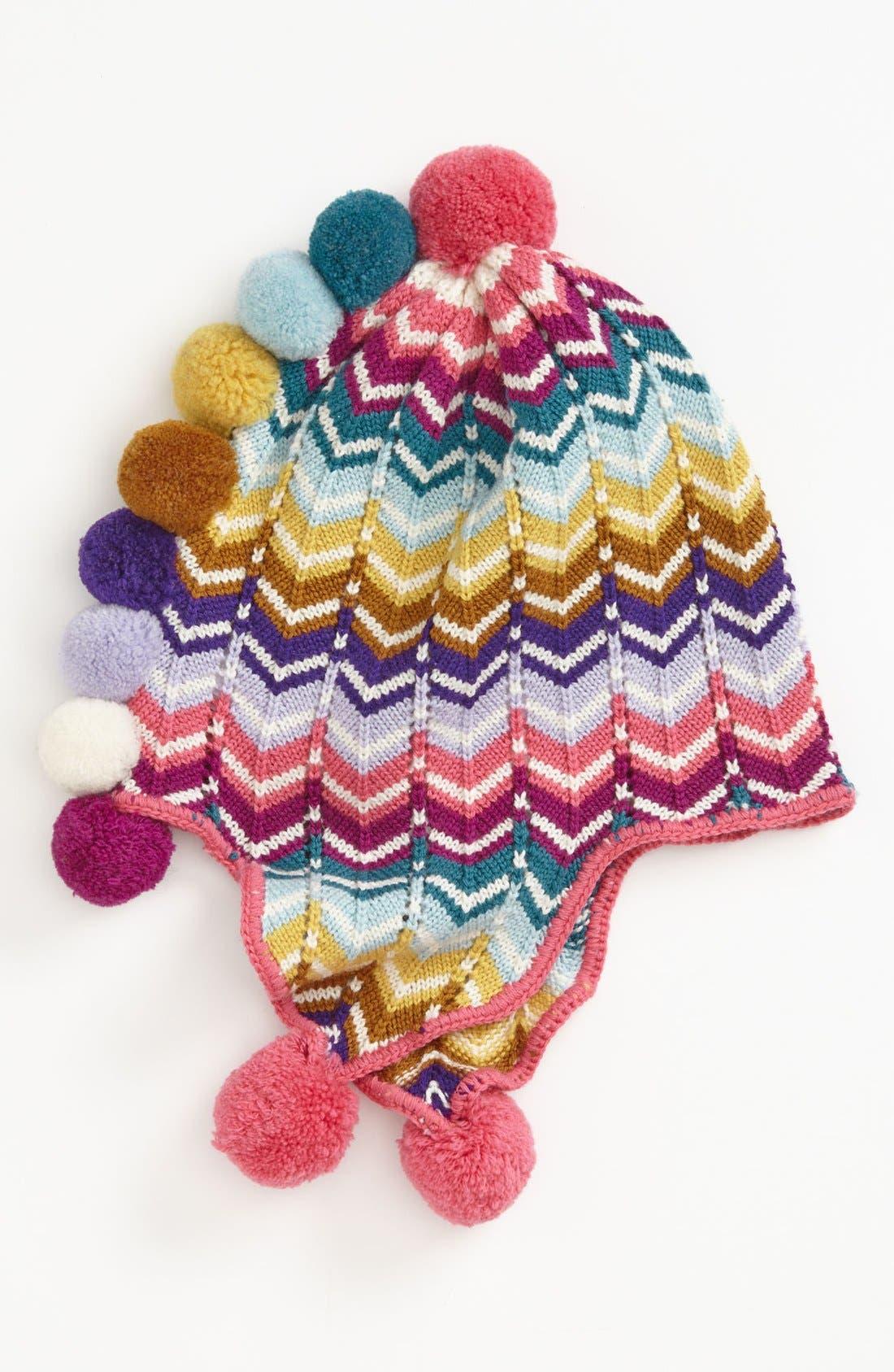 Zigzag Hat,                         Main,                         color, Multi