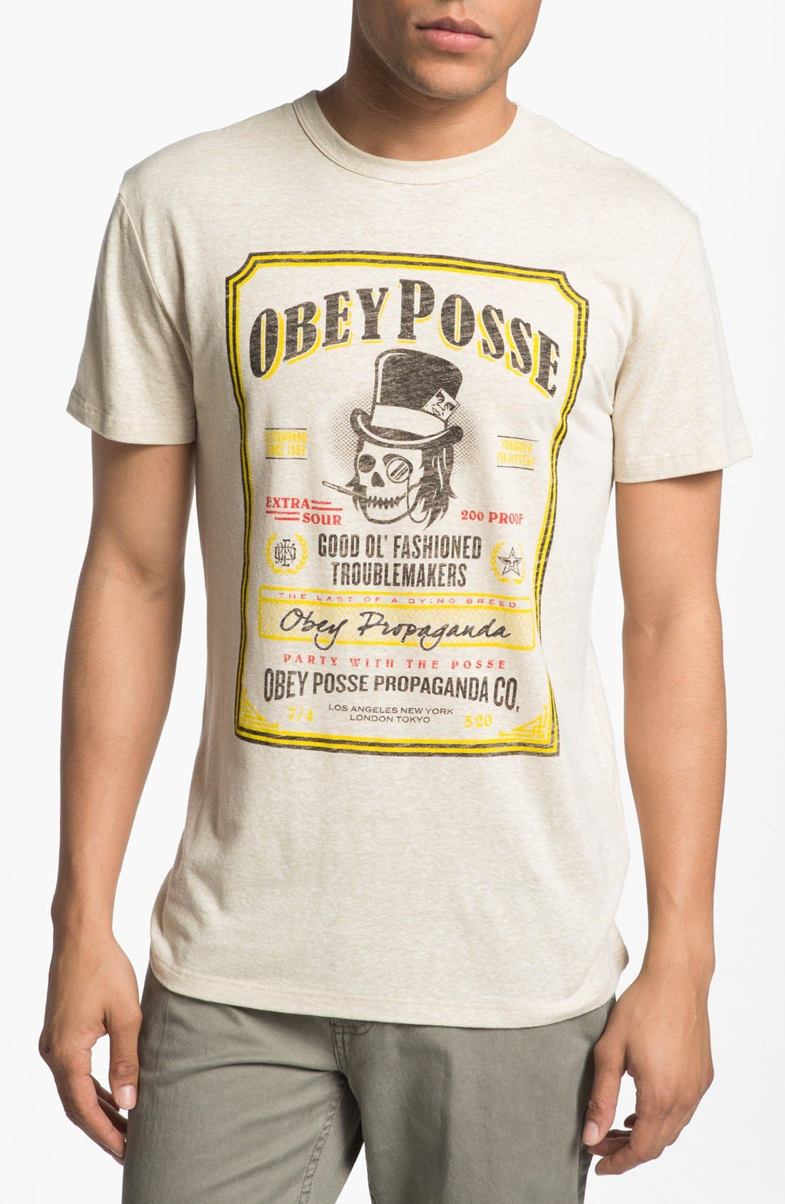 Main Image - Obey 'Troublemakers' Graphic T-Shirt