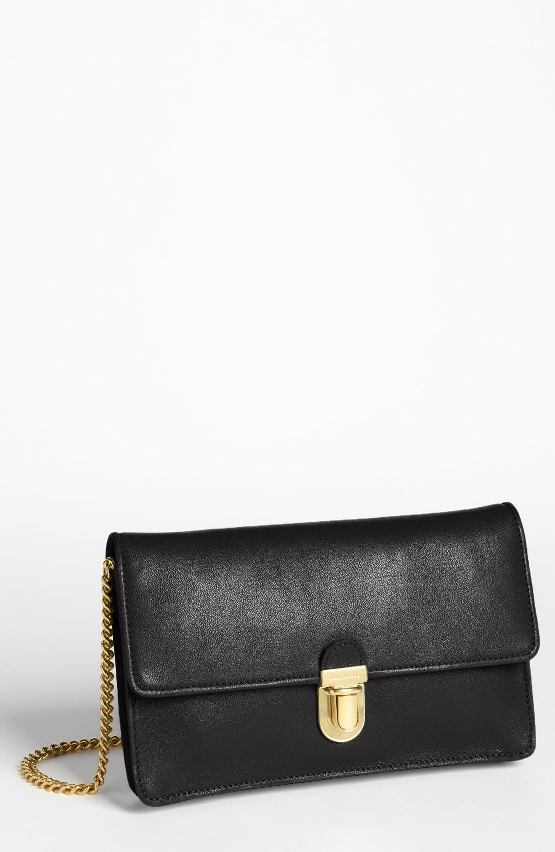 Main Image - MARC JACOBS Leather Clutch