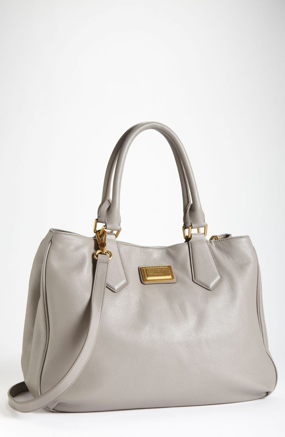 Alternate Image 1 Selected - MARC BY MARC JACOBS 'Large' Leather Tote