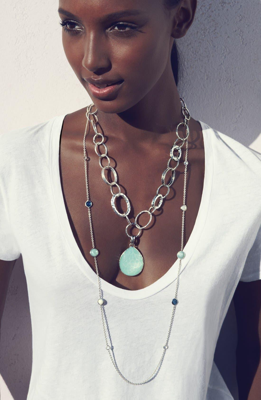 Alternate Image 3  - Ippolita 'Glamazon - Bastille' Sterling Silver Link Necklace
